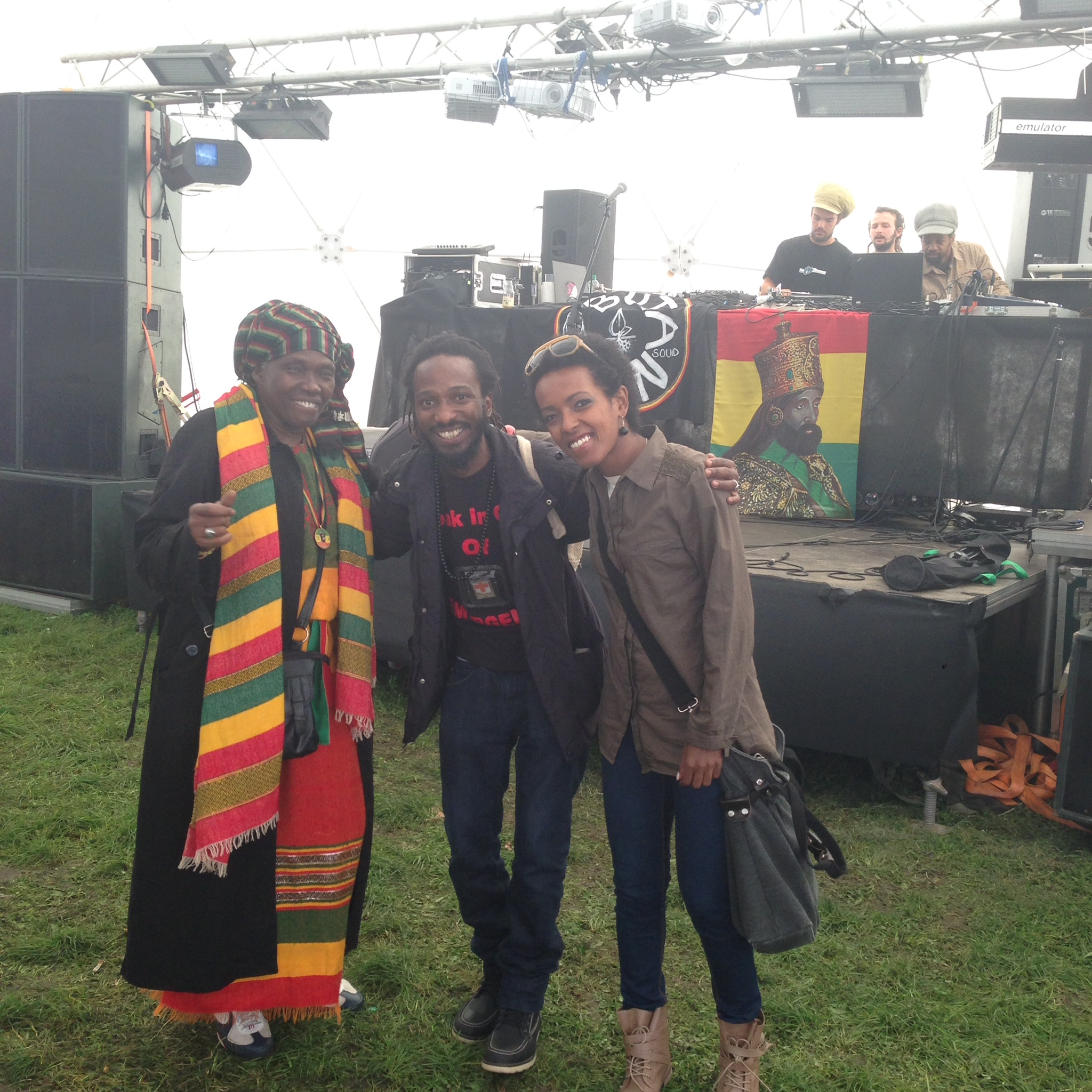 with emamma Askale Selassie