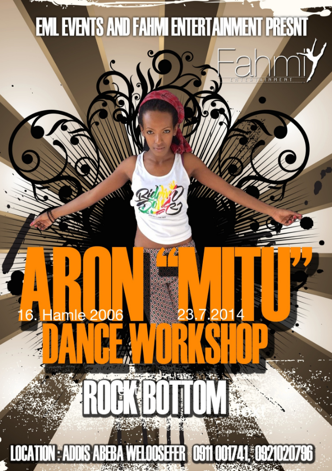 "Aron""MITU"" for the very first time in Addis Ababa / Ethiopia"