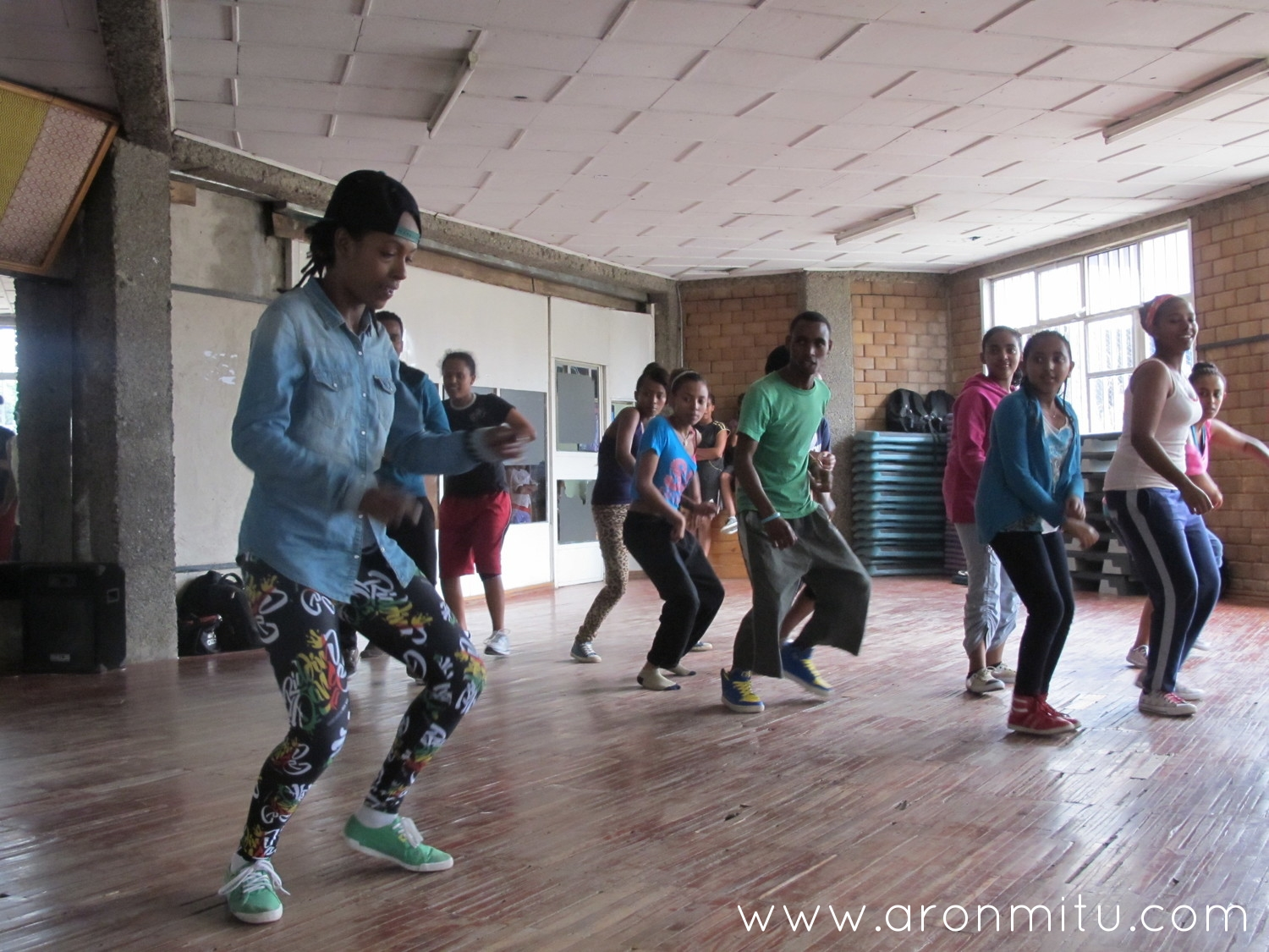 "Aron""MITU"" Dancehall Workshop Addis Abeba Ethiopia 2014"