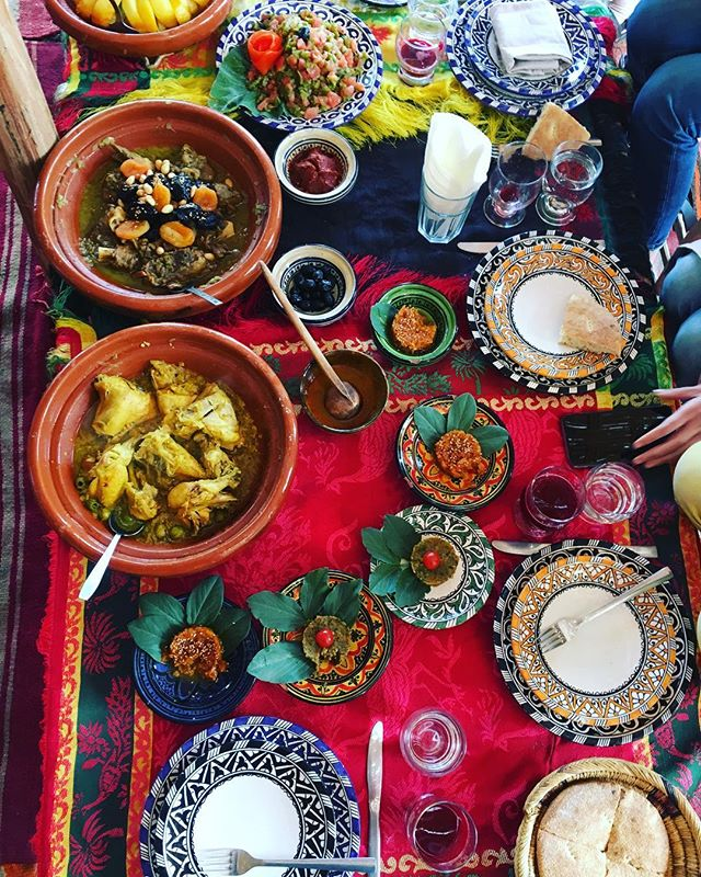 My senses are constantly overwhelmed... this time my heart and belly are oh so full. #beunsettled #farmtotable #thatfarmlife #morocco #marrakech #framily #imadethis