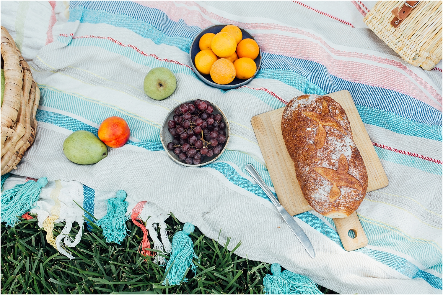 Taylor Gonsoulin Photography lifestyle picnic session