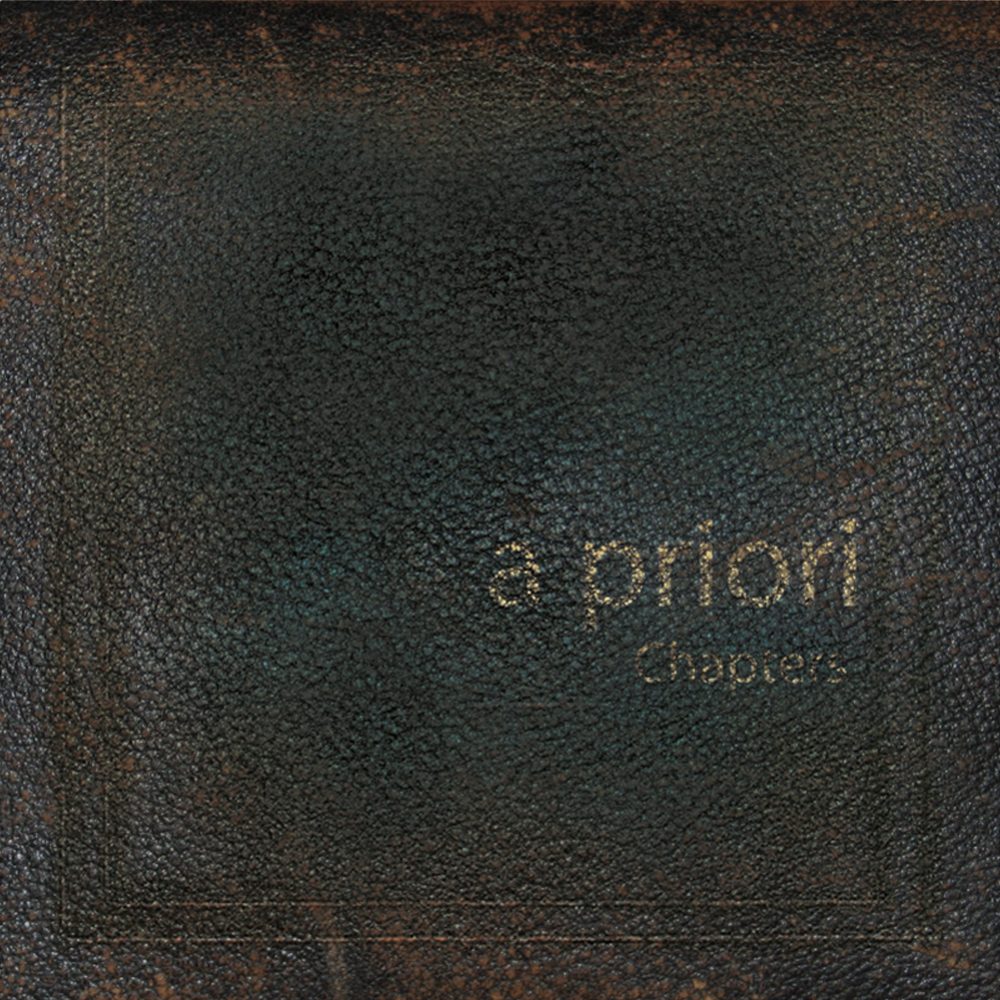 a priori - Chapters