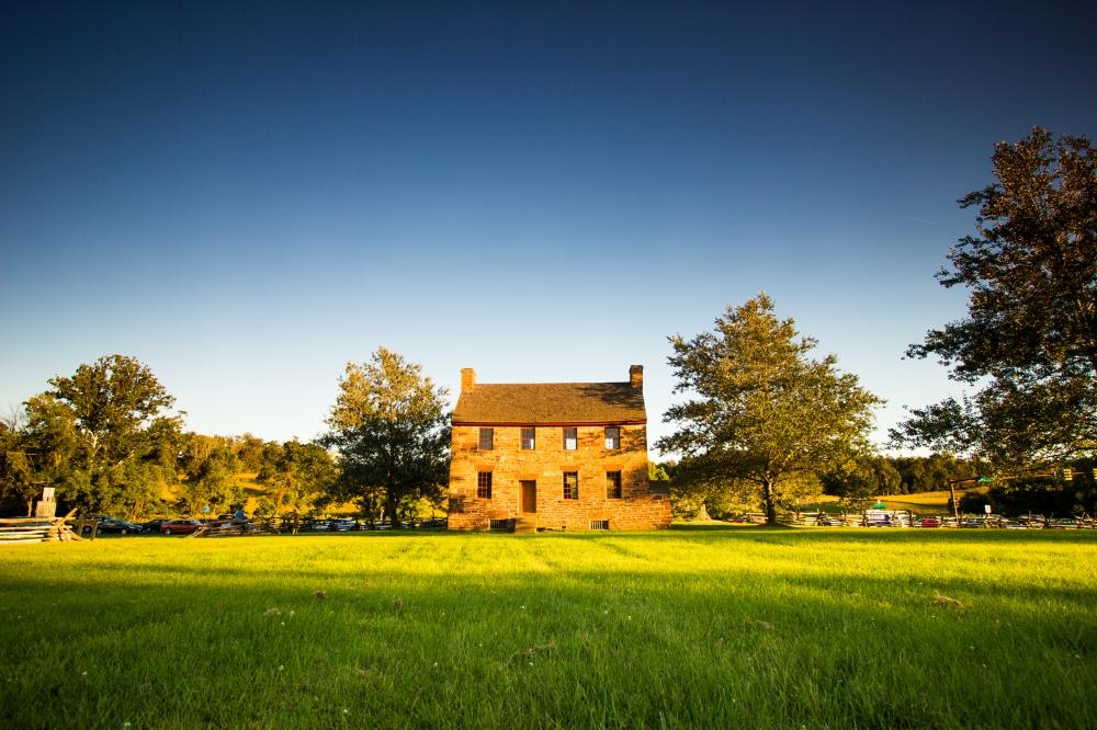 Brick House at Manassas National Battlefield Park