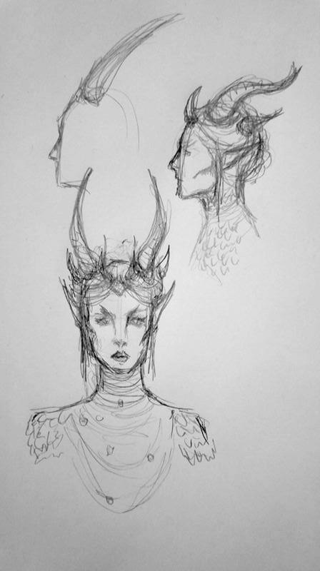 Concept art, drawn by Alana