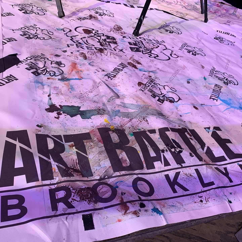 Thank you Art battle for this great opportunity…  #ArtBattle,  https://twitter.com/artbattles , www.artbattle.com