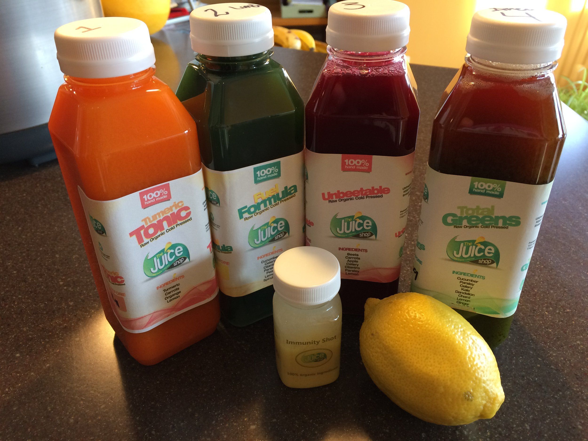 The Juice Shop's Liver Cleanse