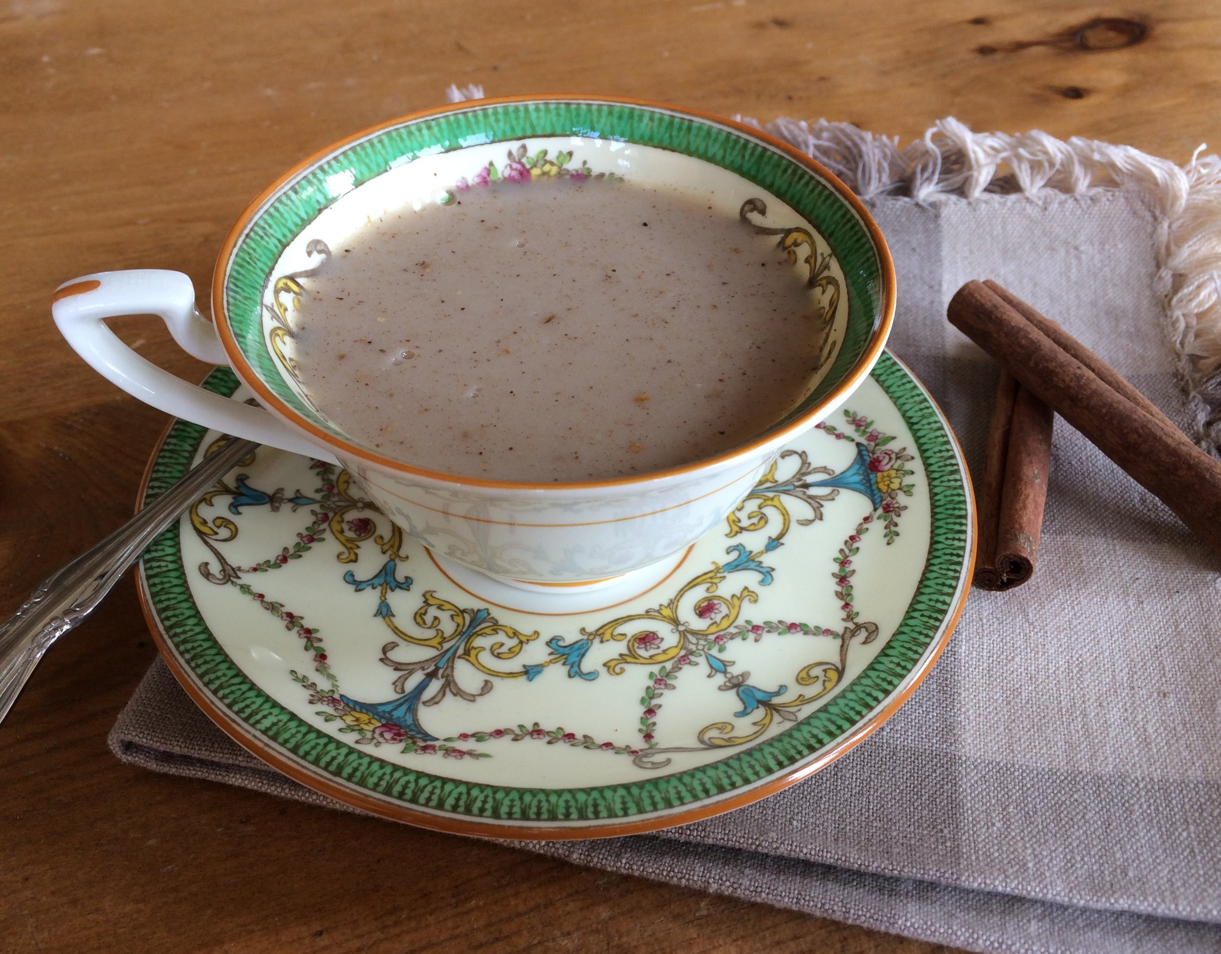 Be creative. For a Chai Tea version, replace the cacao powder in the Chocolate Panna Cotta with 1 teaspoon of chai spice blend. This is my daughter's favourite. Use spices you tolerate to create your own blend.