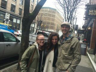 Katie, Carla, Andrew