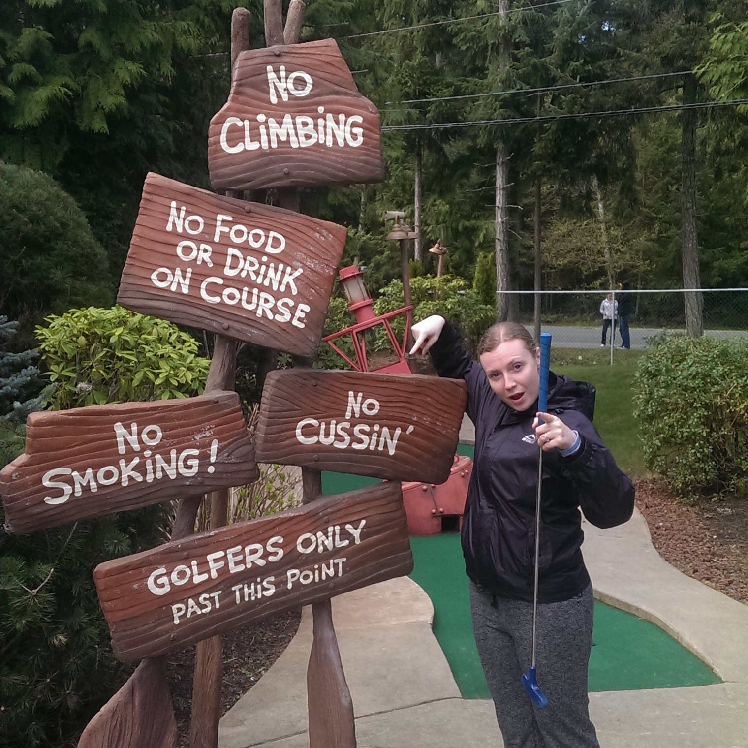 We got CRAZY at the Riptide Lagoon minigolf! Absolutely Tore It Up!