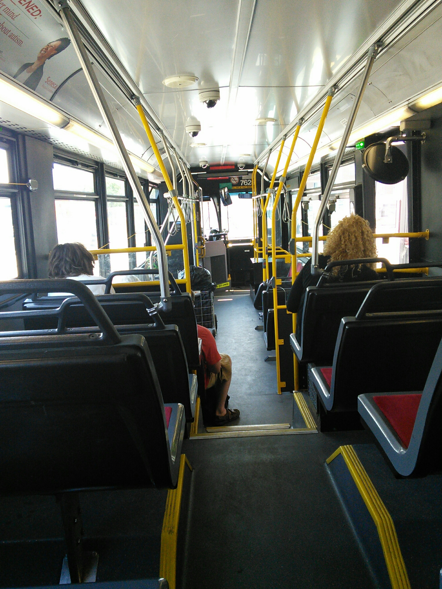 A ramdom shot of transit in TO because I've missed being convenienced