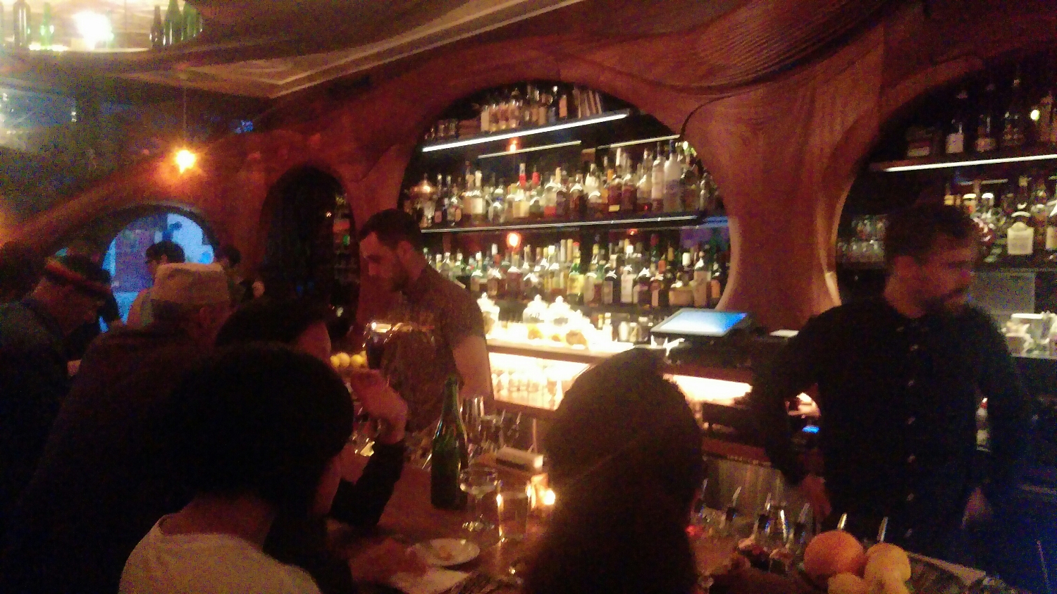The bar at Raval
