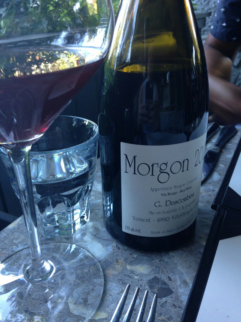 Love this wine. So light, for a hot summer day, but complex and a bit 'dirty'.