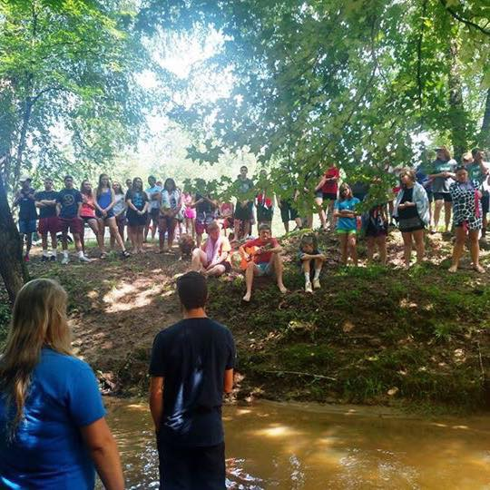 Baptism @ Youth Camp