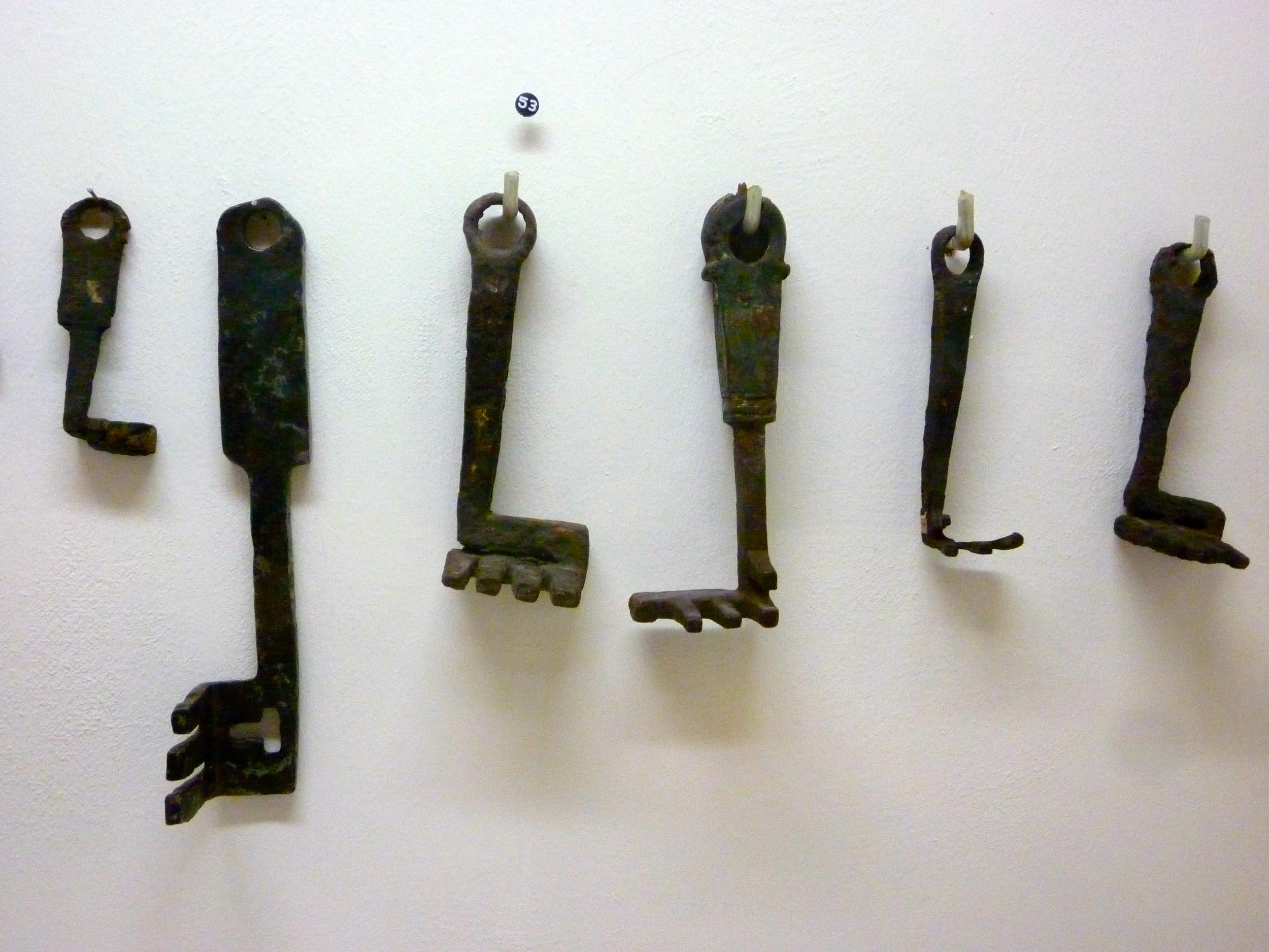 Roman keys