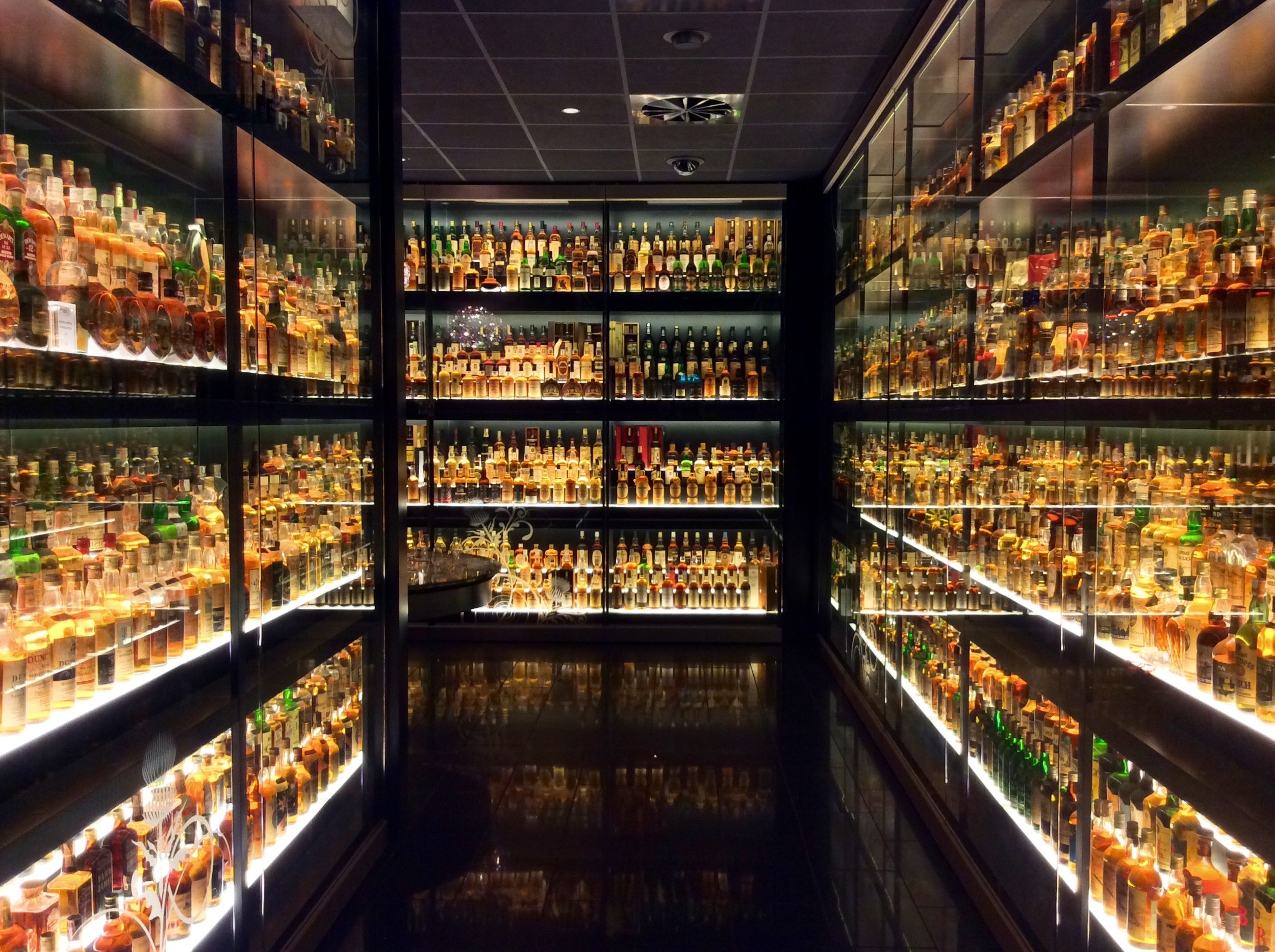 The largest scotch whisky collection in the world