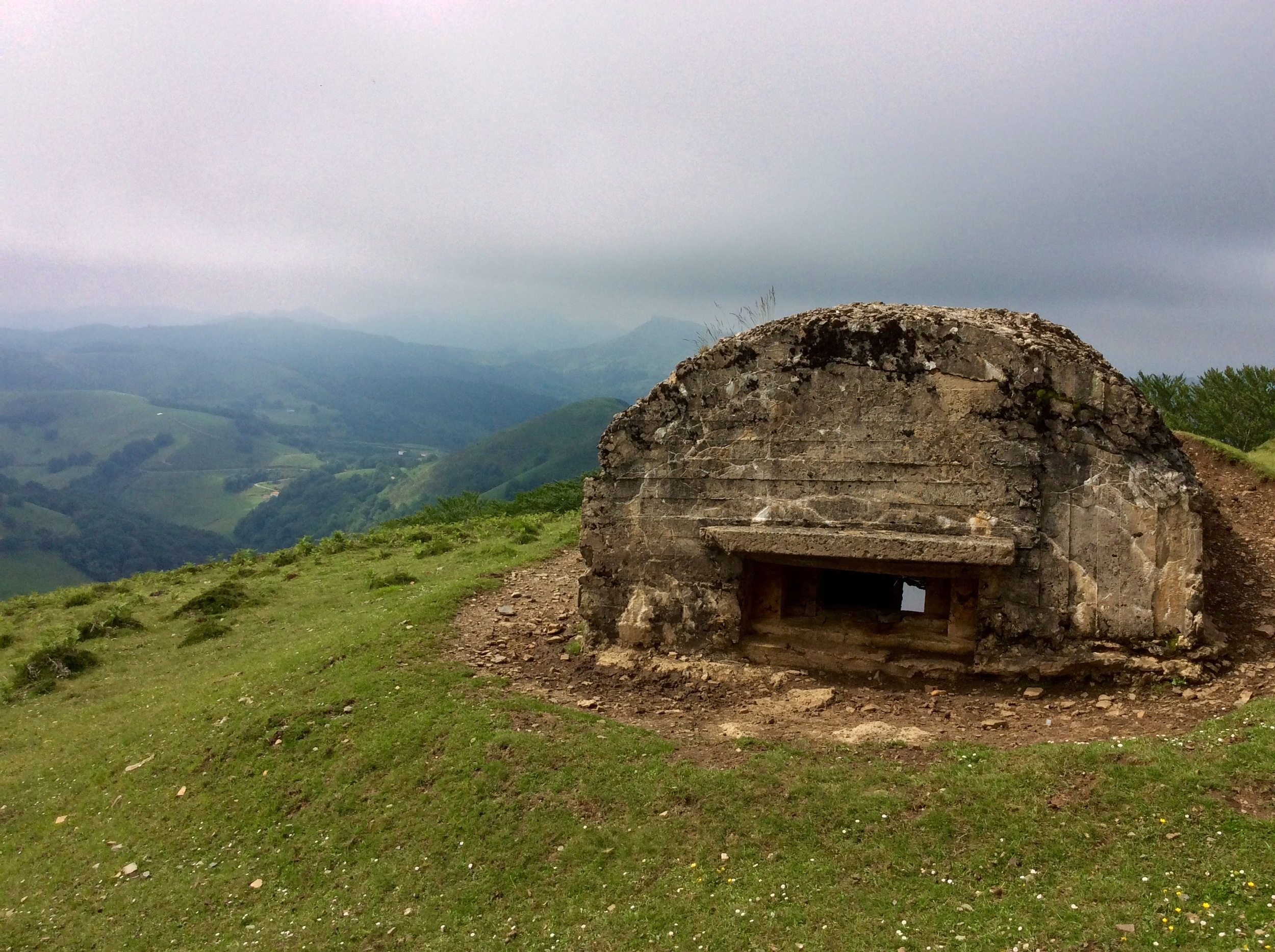 Pillbox from the Spanish Civil War