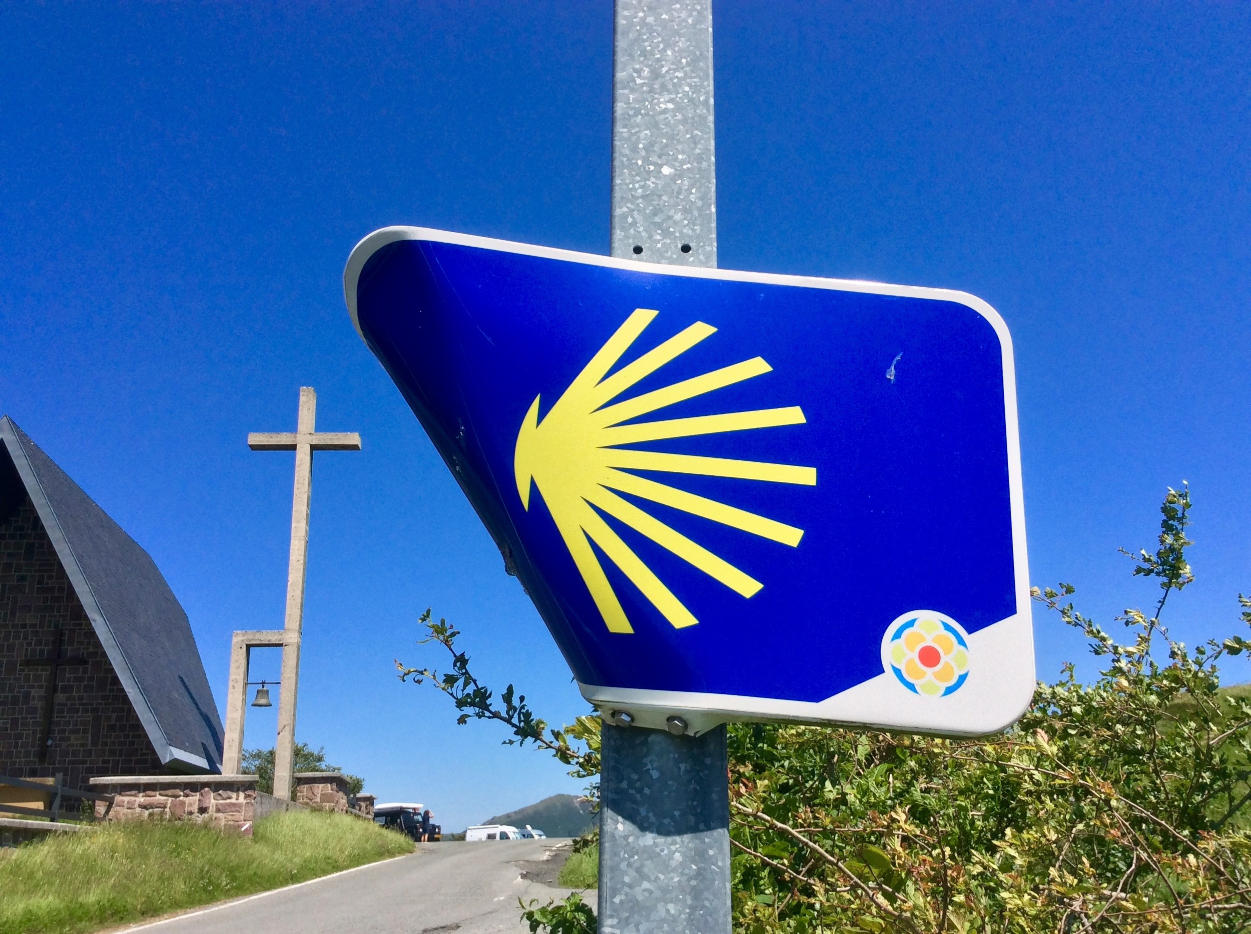 Crossing the Camino de Santiago