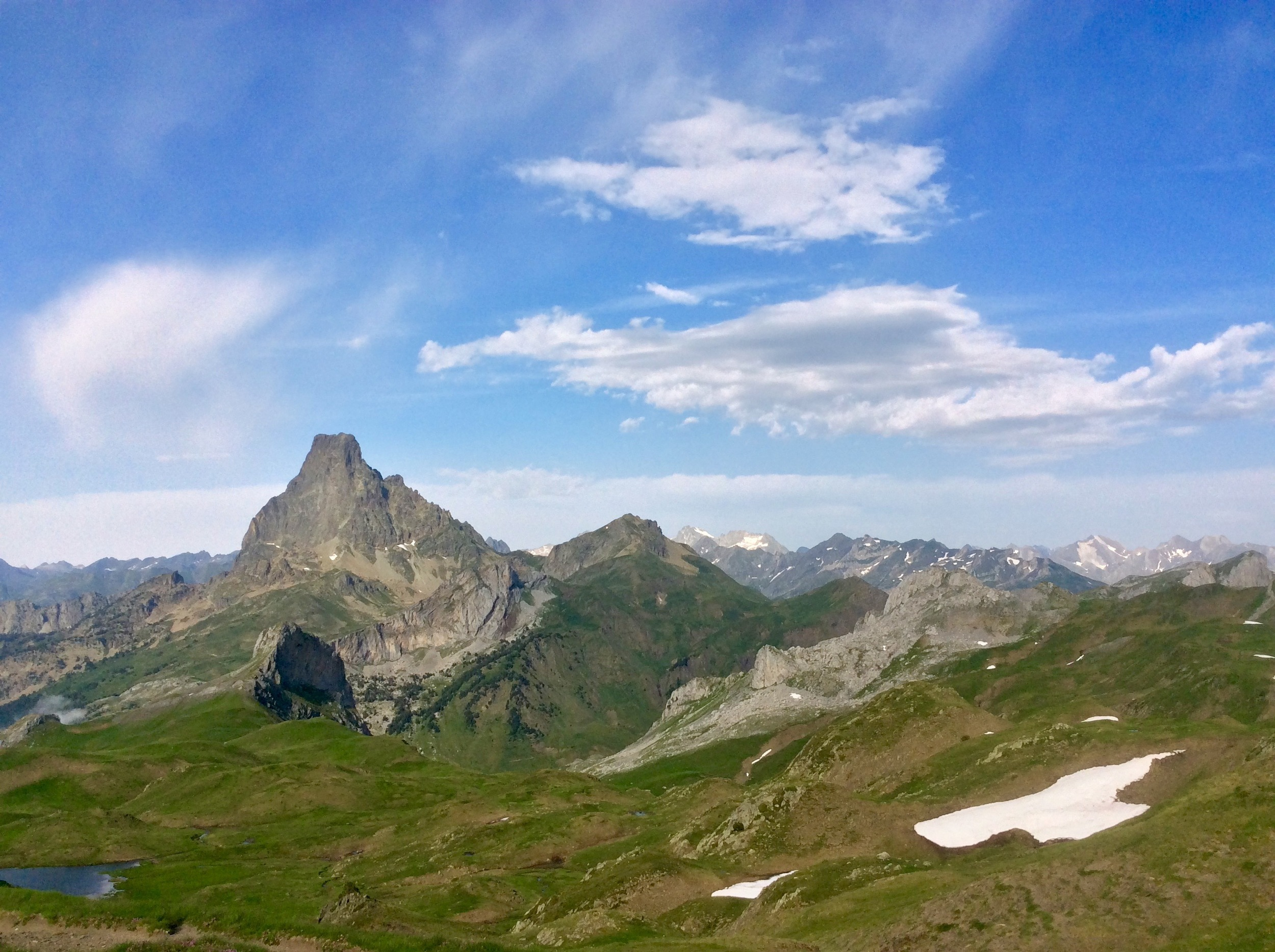 Pic du Midi d'Ossau, from west