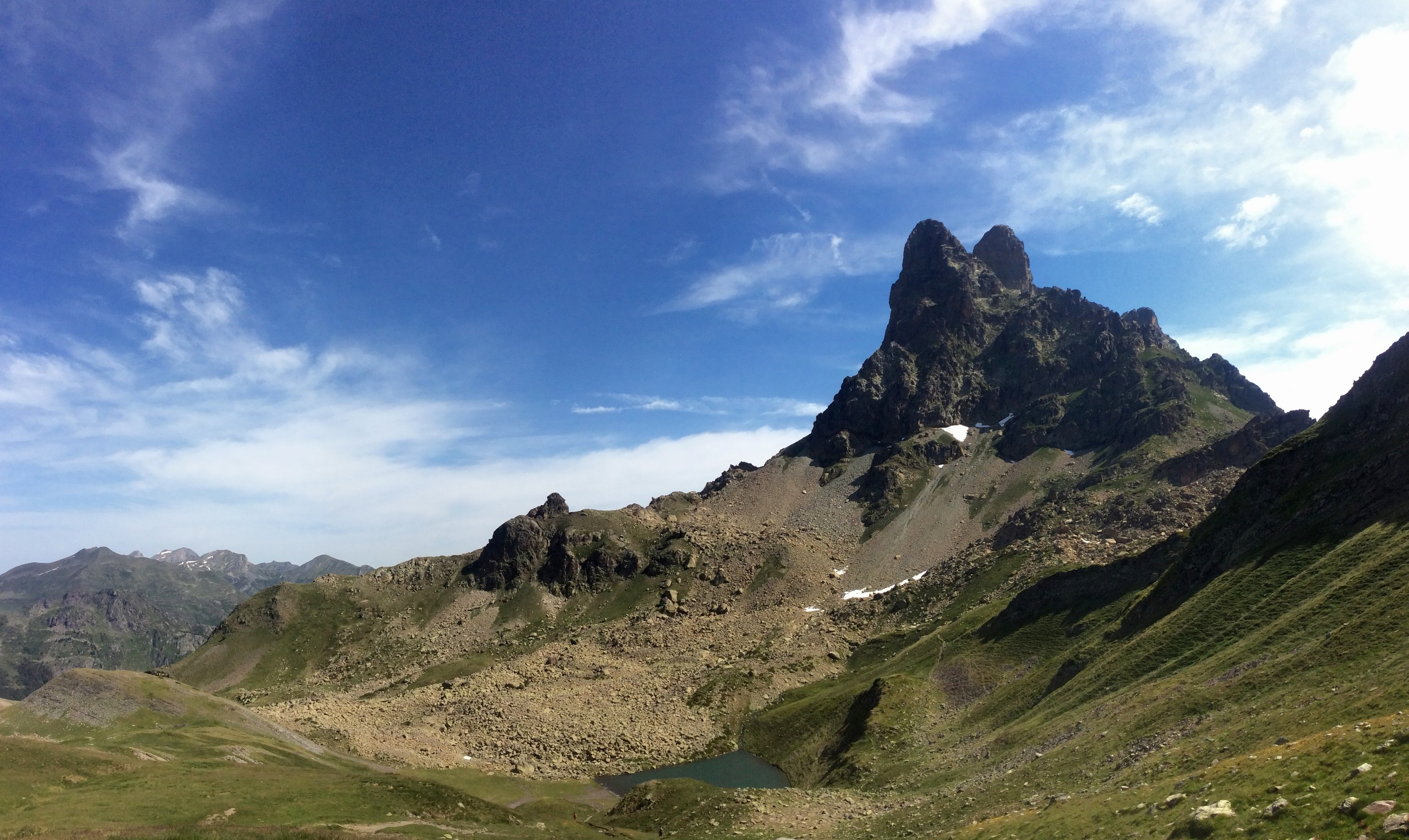 Pic du Midi d'Ossau, from south