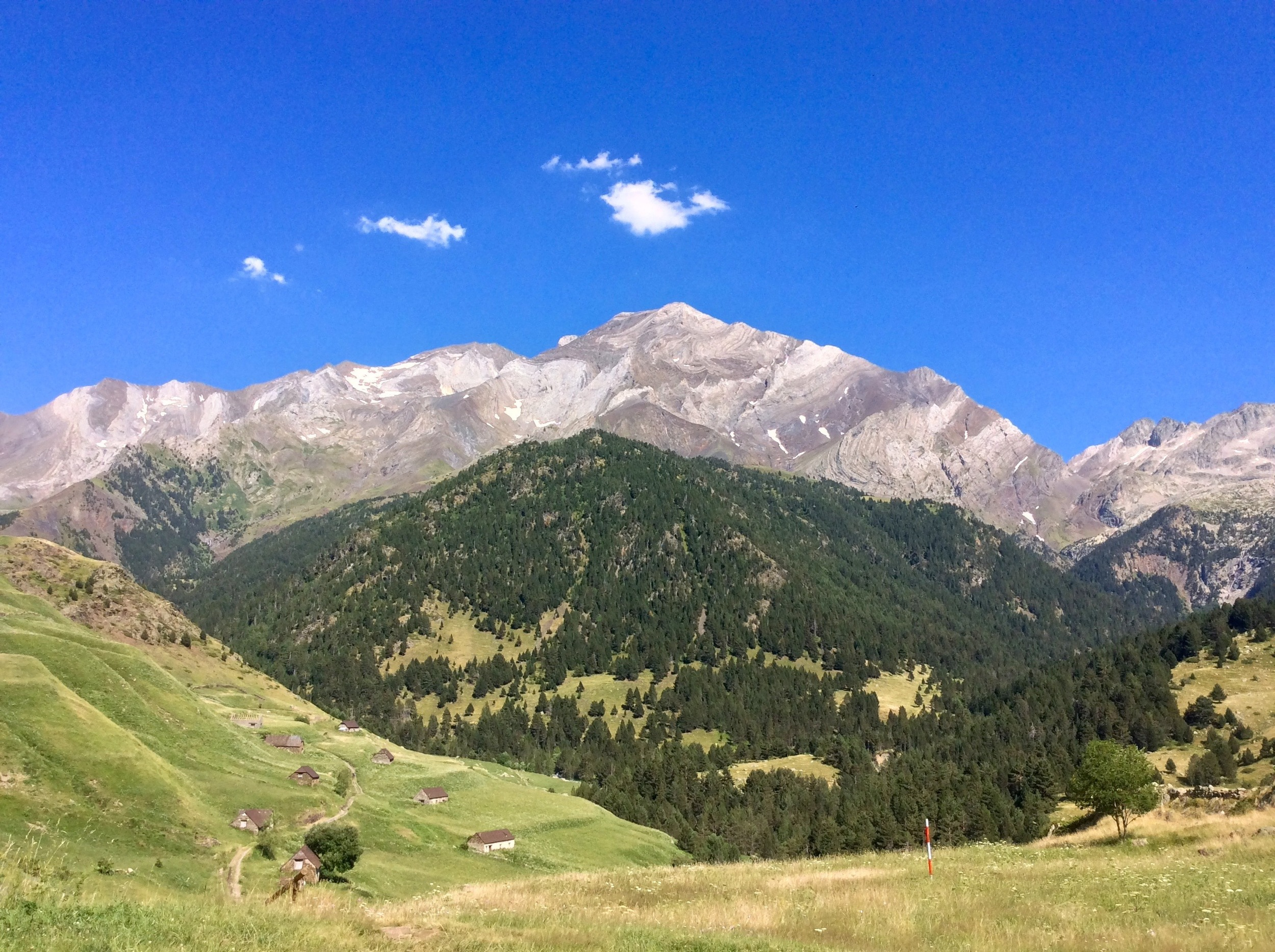 Pico Posets, second highest in the Pyrenees