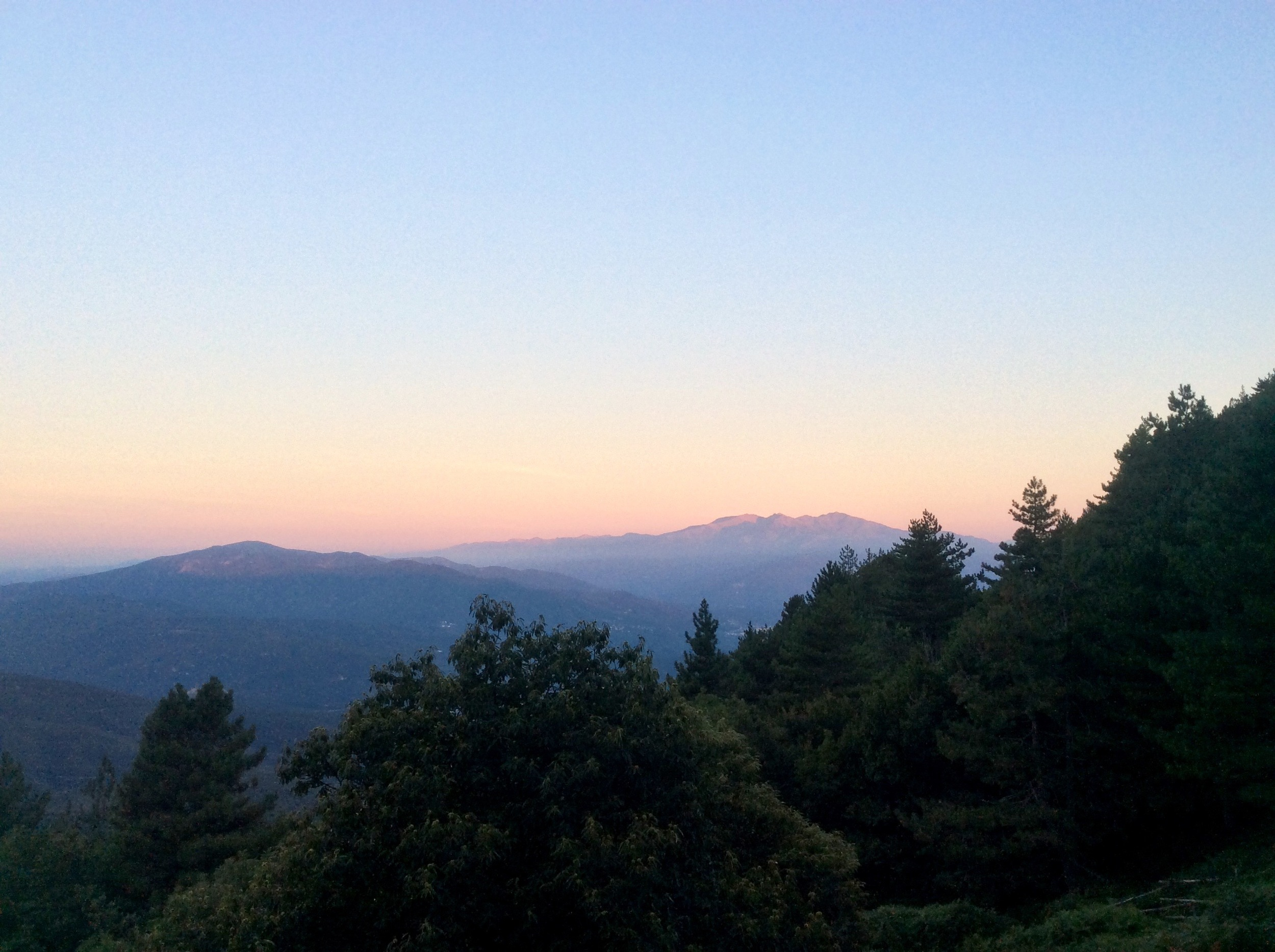 Canigou from the east