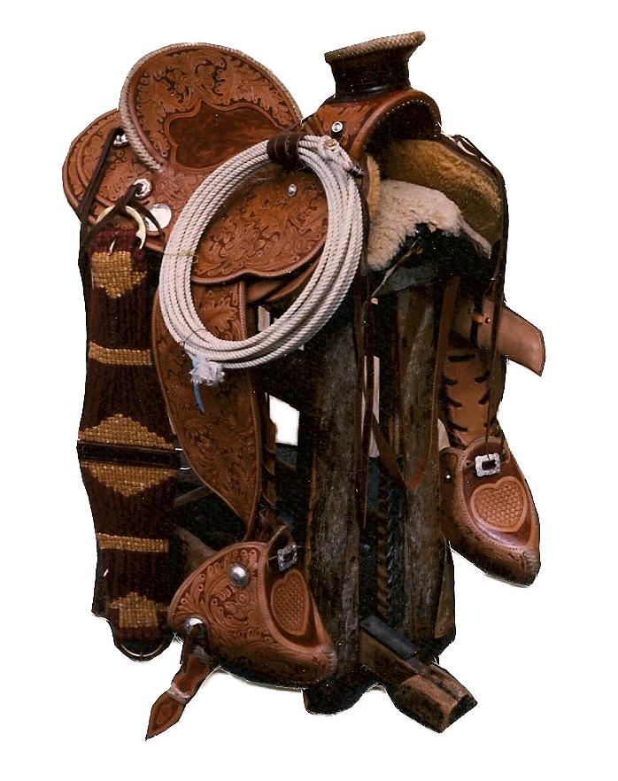 saddle acorn stamped
