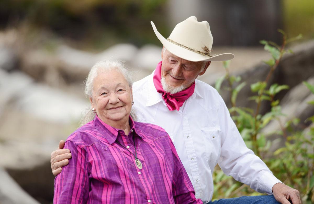 Saddle maker Jean Huston Bill Huston