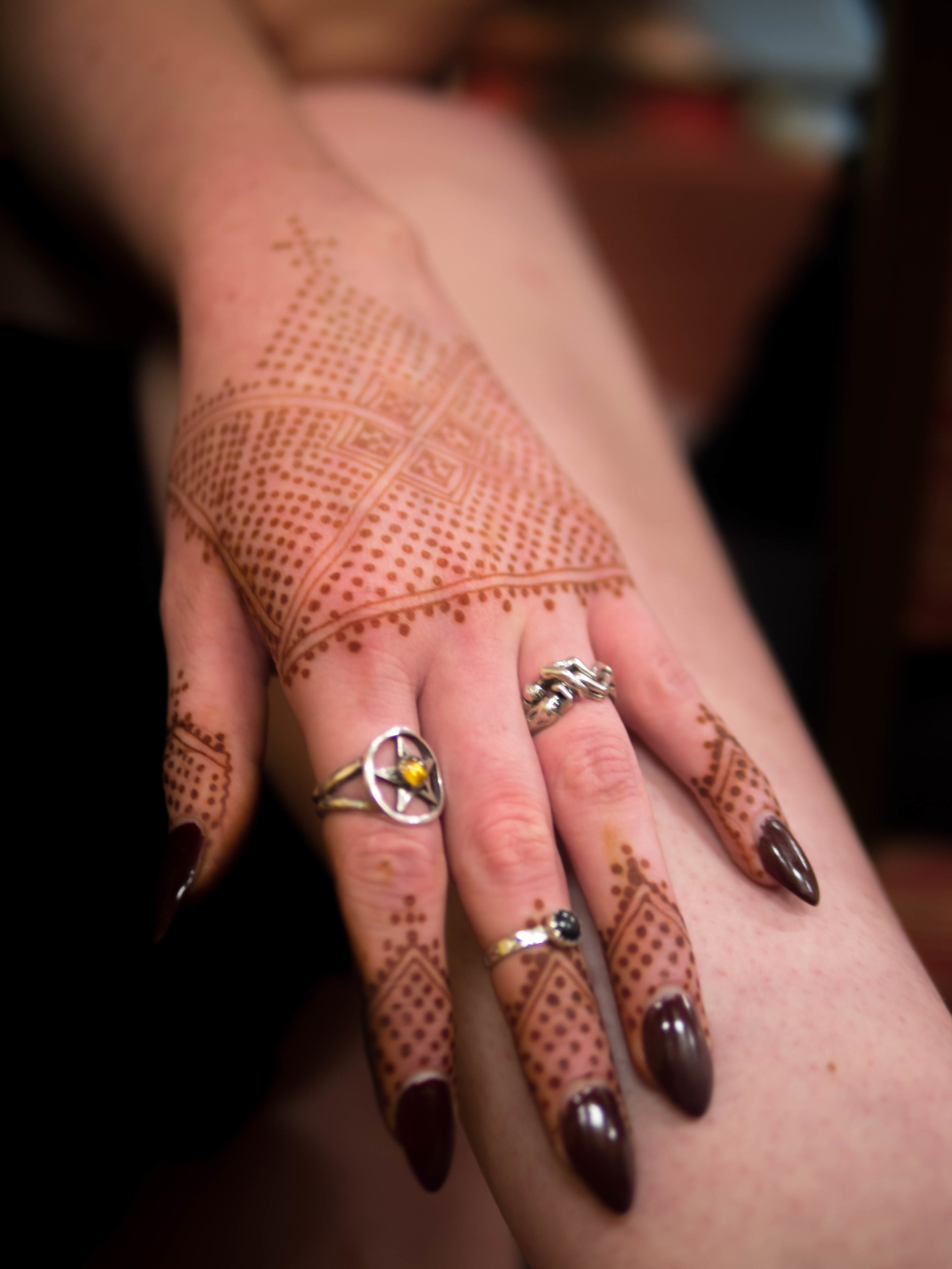 Lalla Aicha henna design