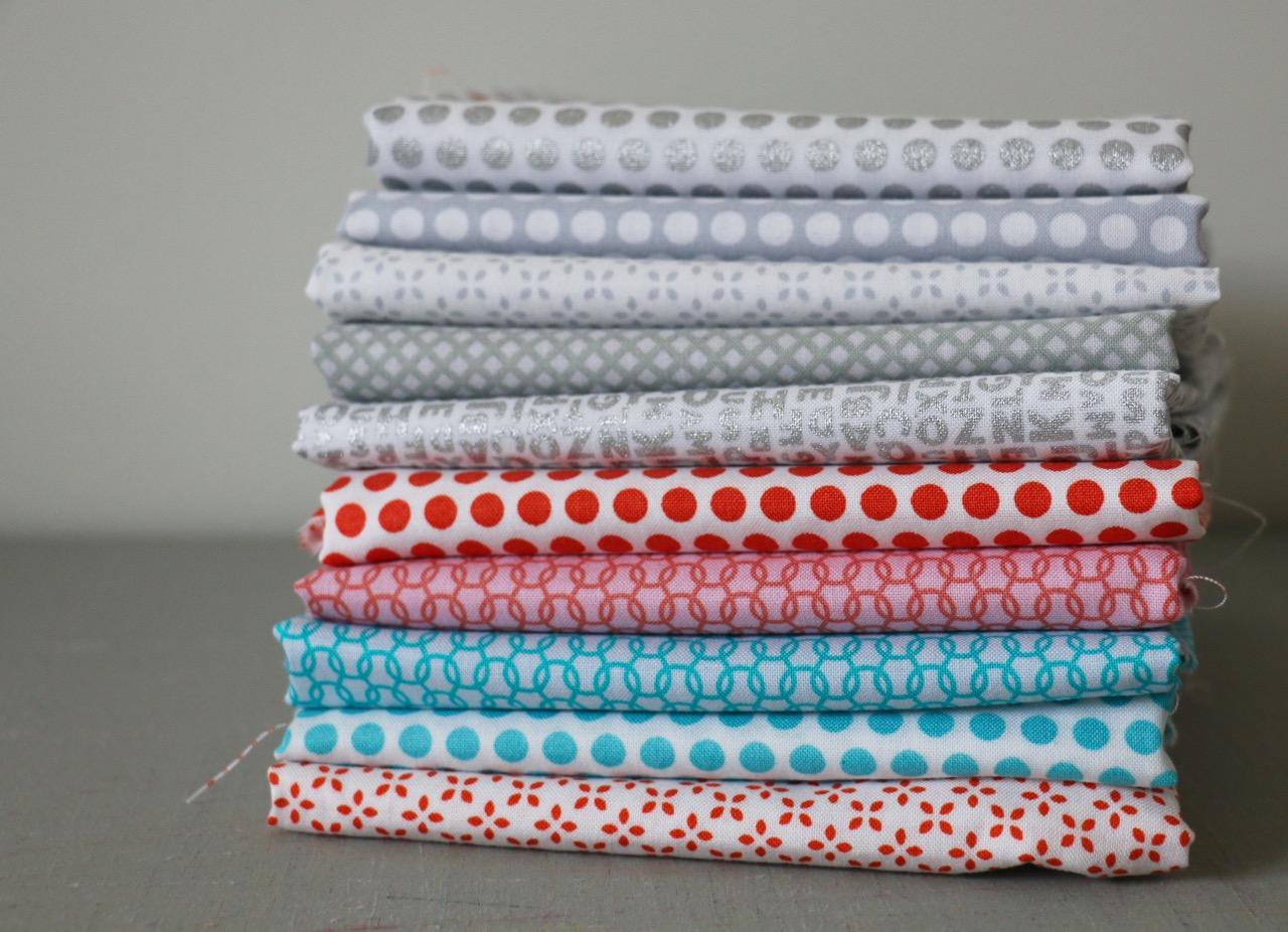 Low Volume Uppercase Fabrics