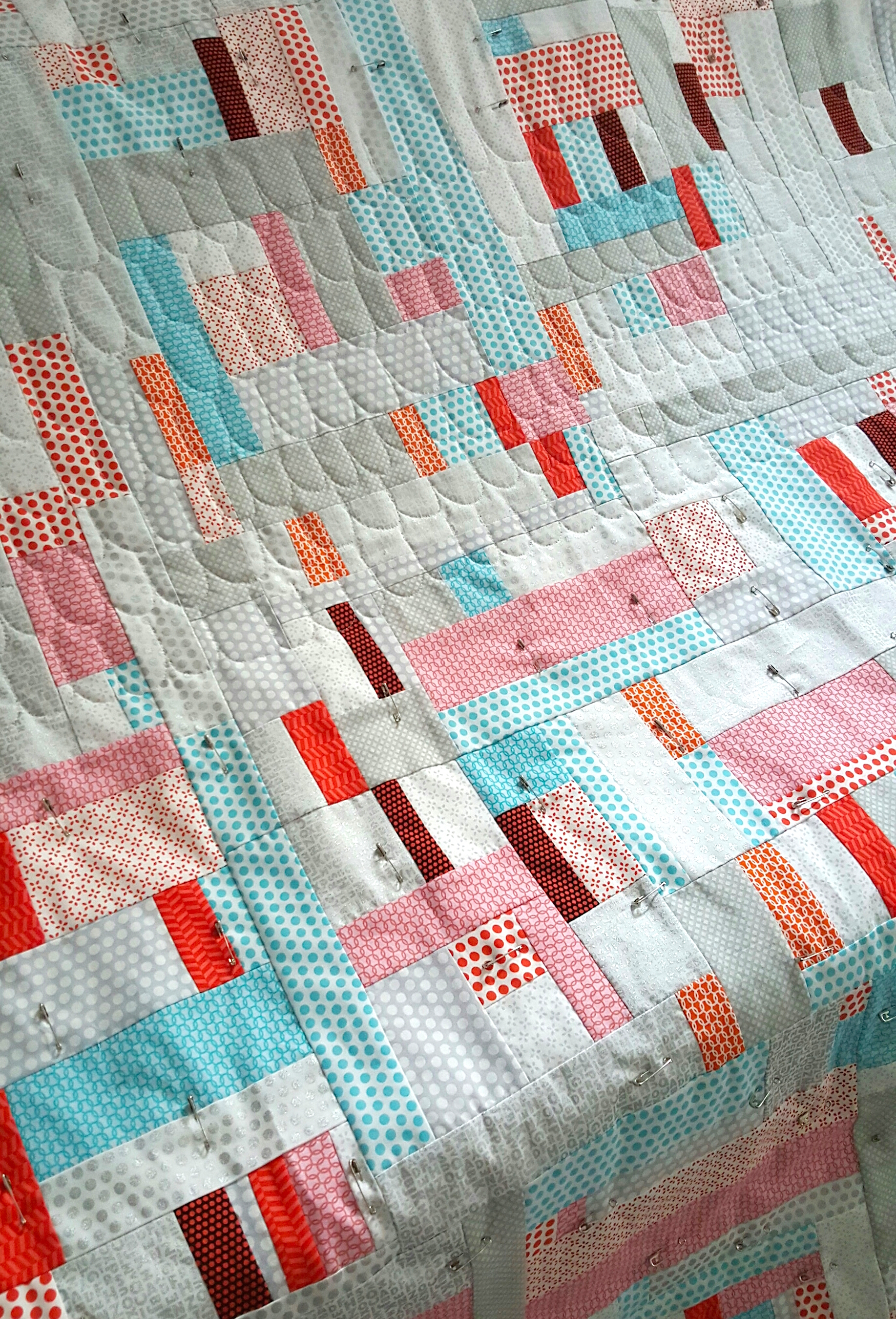 Pickets for Uppercase Being Quilted