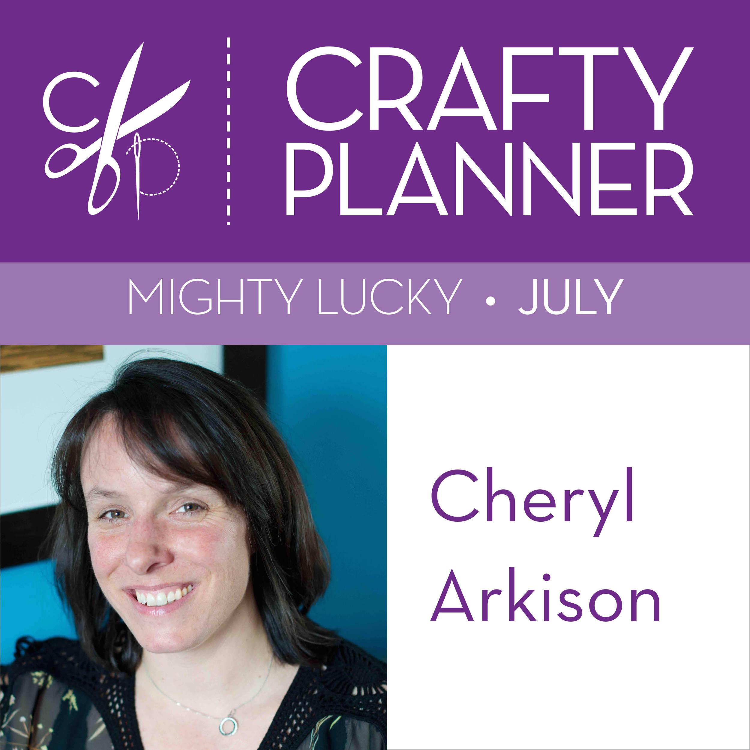 Cheryl Arkison Crafty Planner