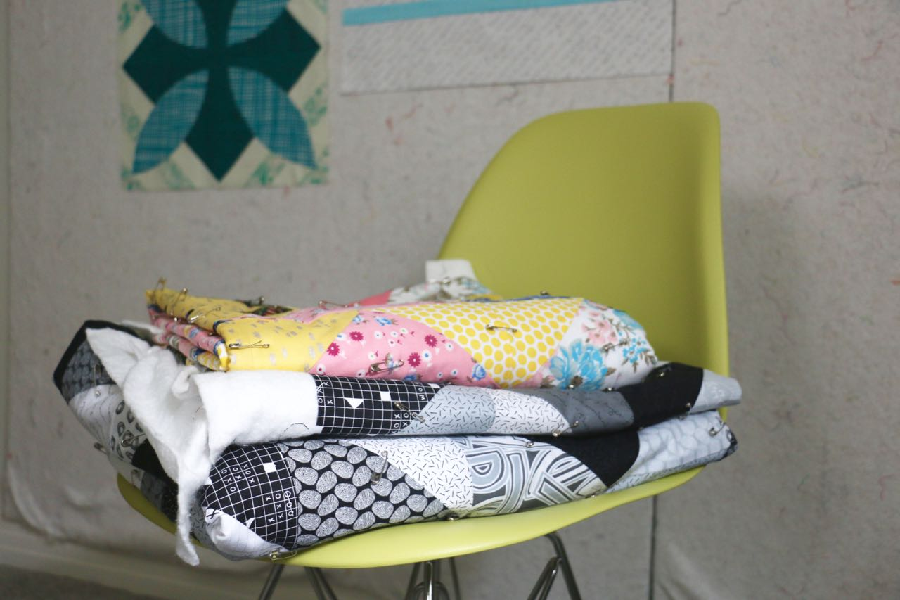 Quilts Waiting to Be Quilted - Tag Fabric