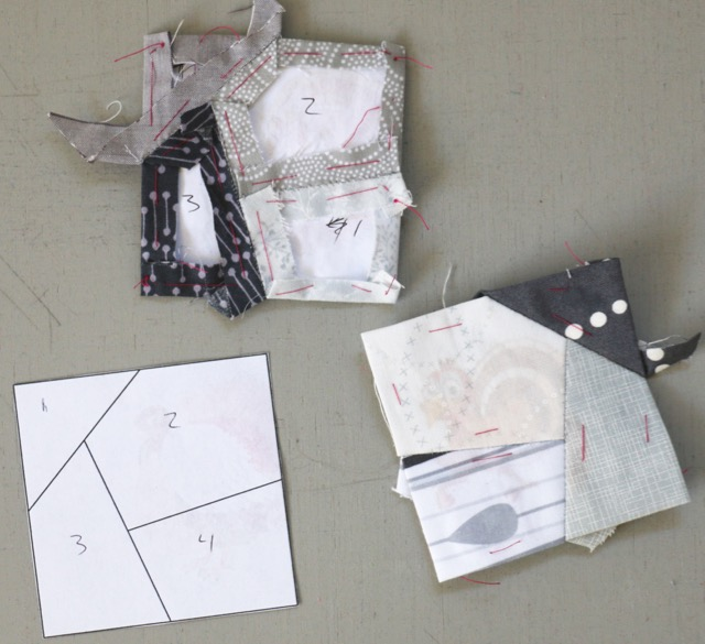 Euroa English Paper Piecing blocks