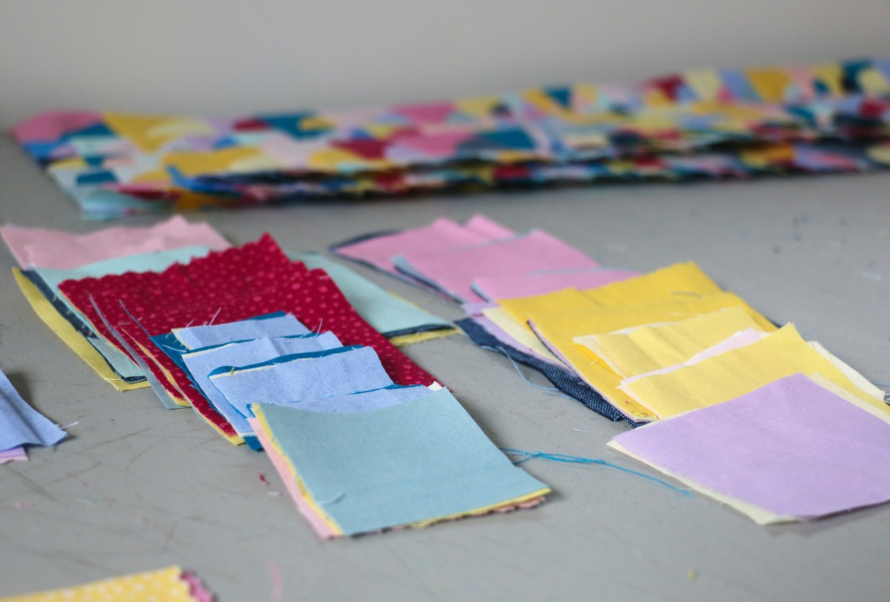 Small patchwork squares