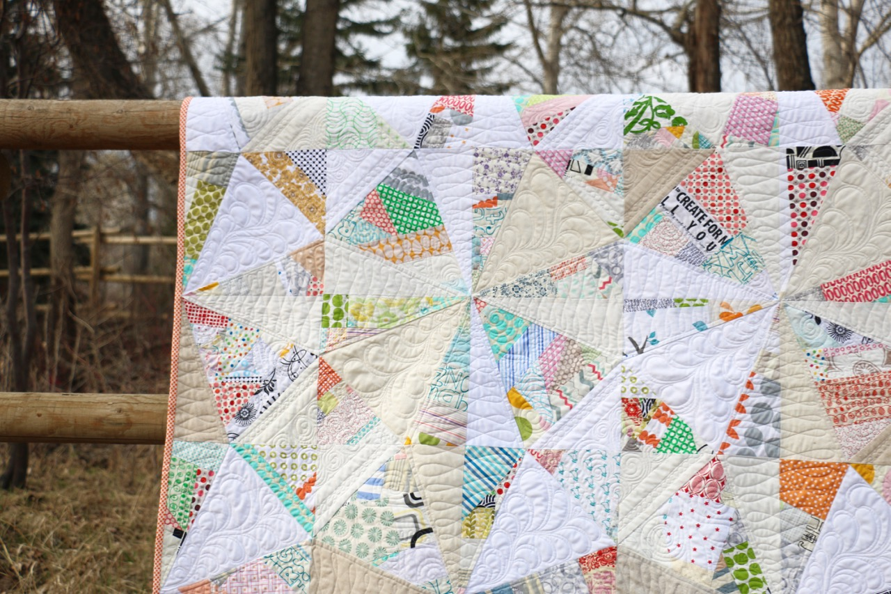 Stitched Quilting Co Free Motion Quilting