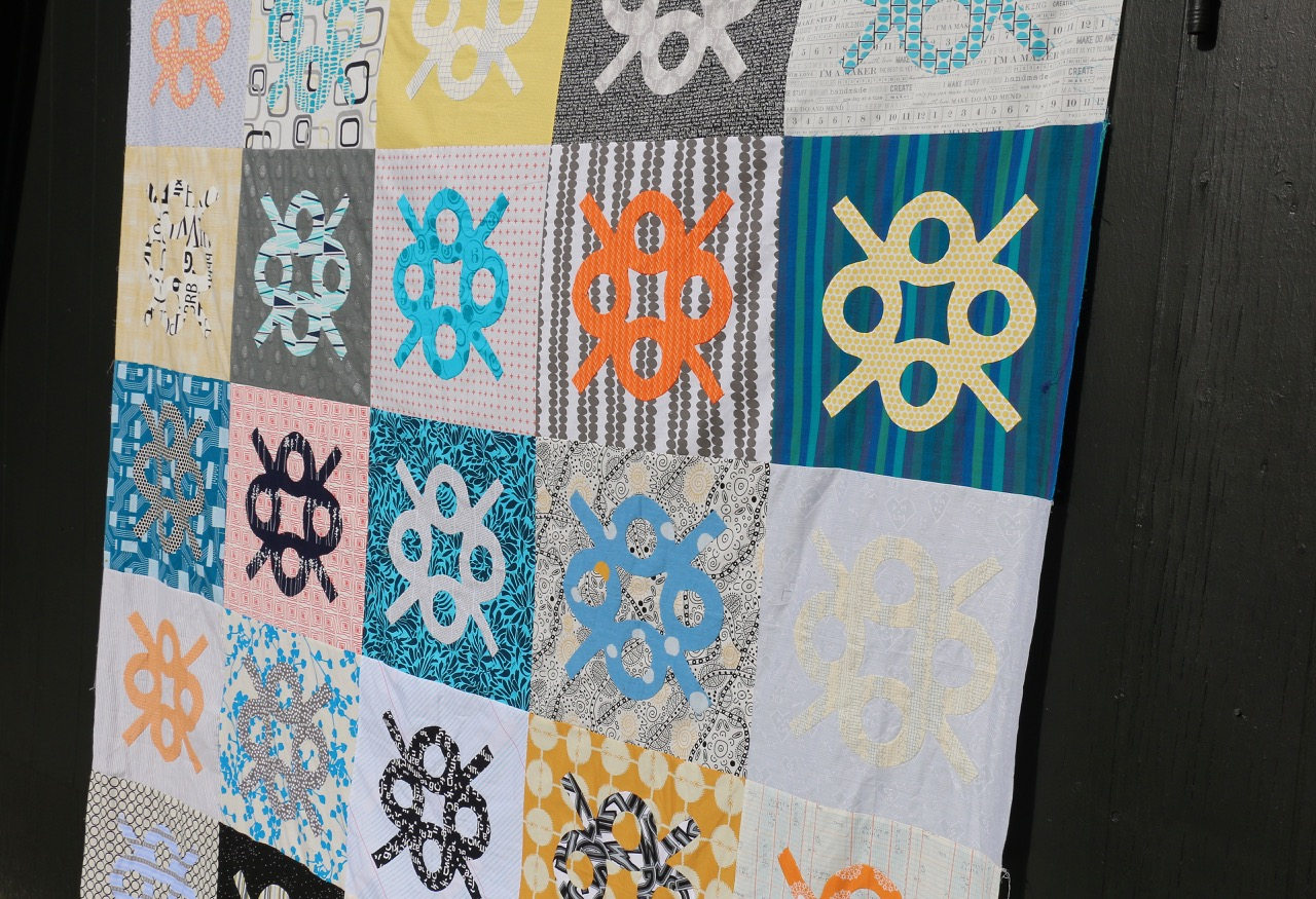 Hand Applique Park Quilt