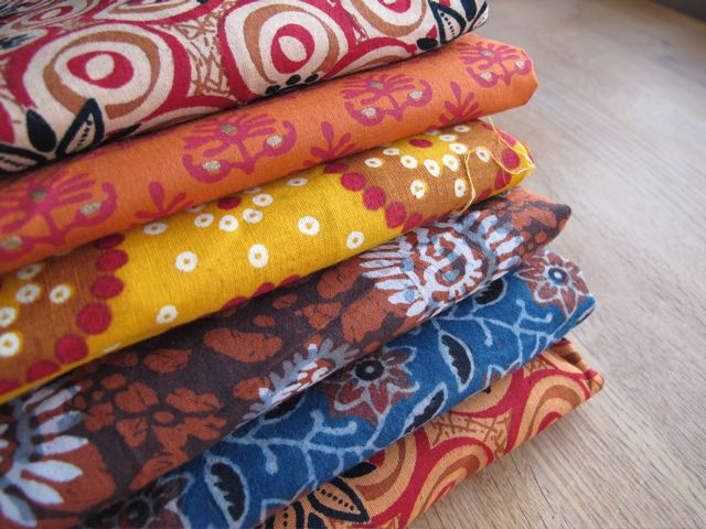 Indian cotton fabrics