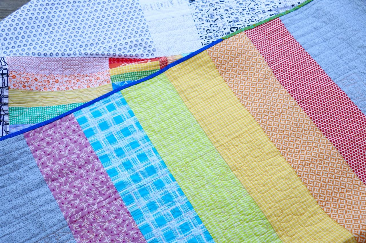 Pride Quilt Rainbow Quilt