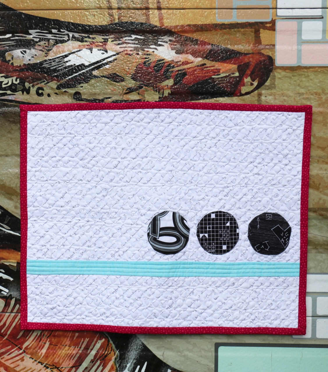 Ellipsis Quilt Tag Fabric Cheryl Arkison Connecting Threads