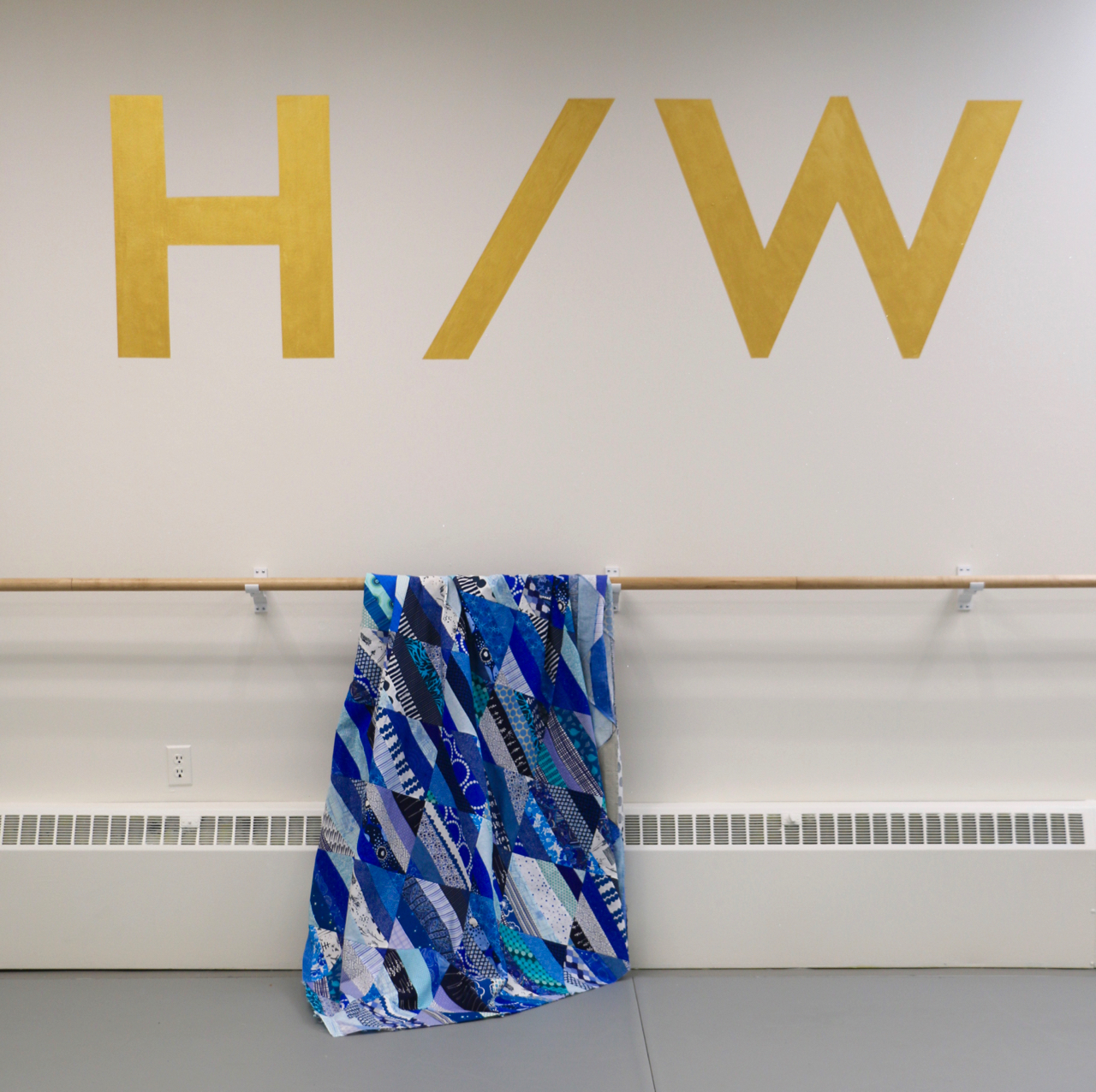 Hattori Williamson Blue Gala Charity Quilt
