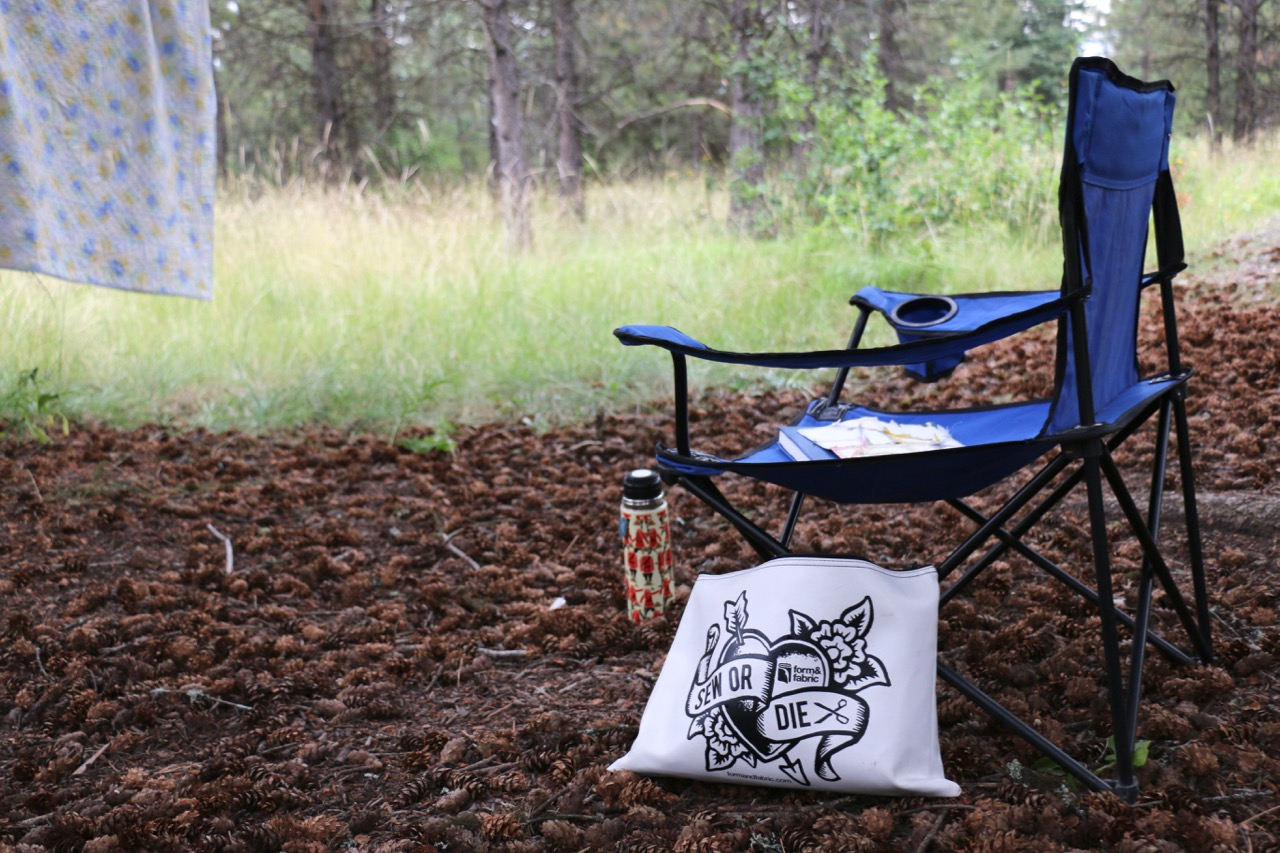 Sewing and Camping