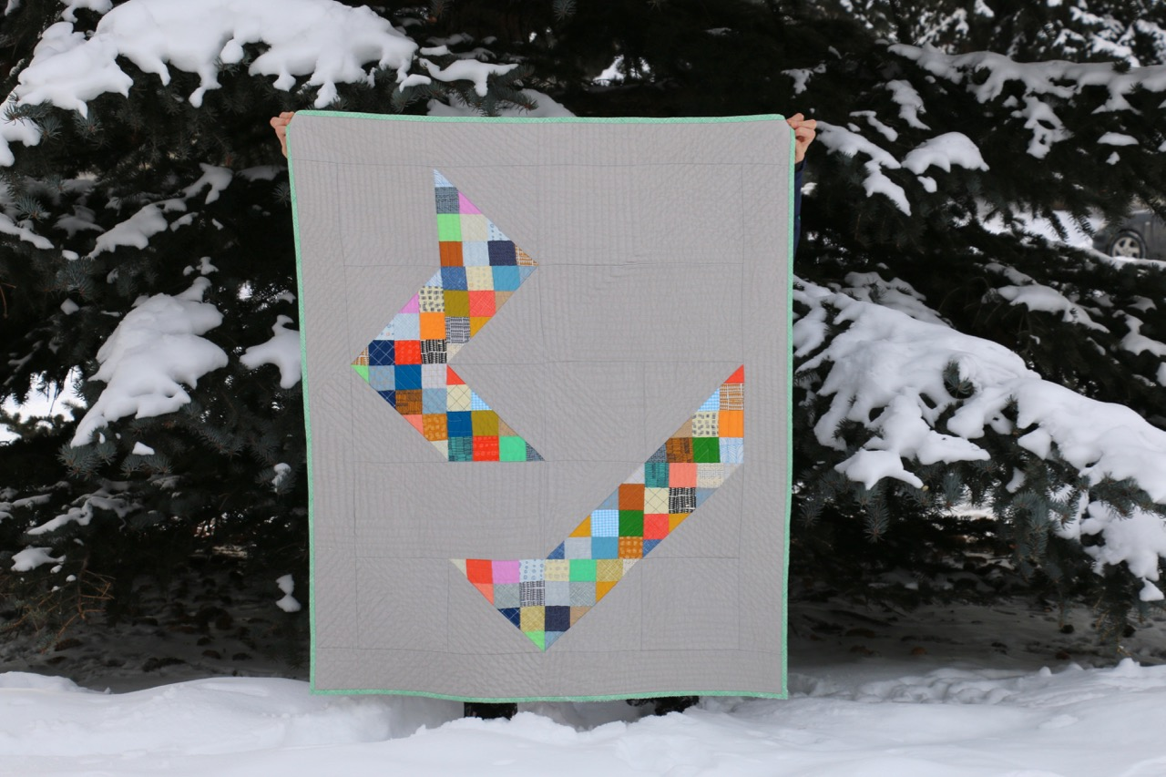 Improvisational Quilts Half Square Triangles