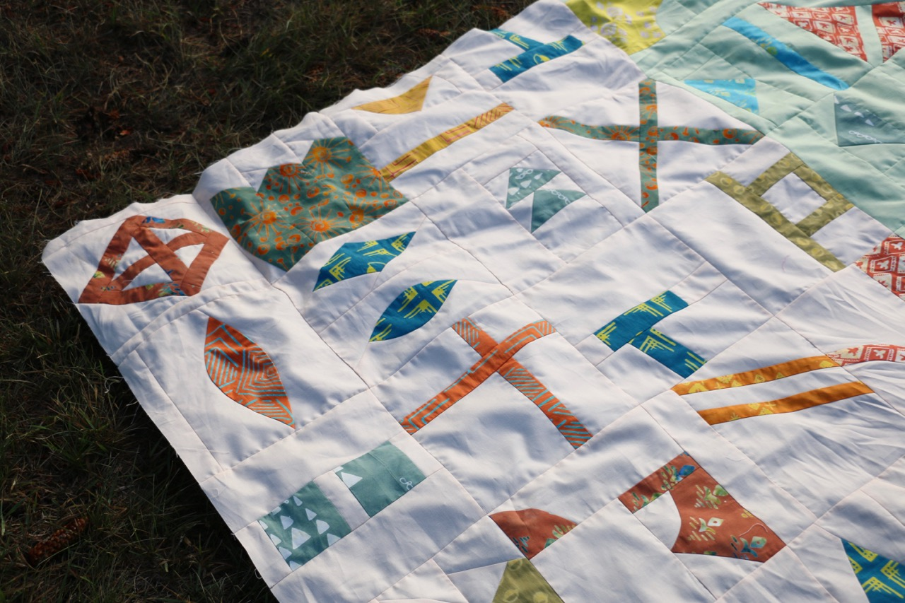 Lilla Quilt Tie One On Fabric
