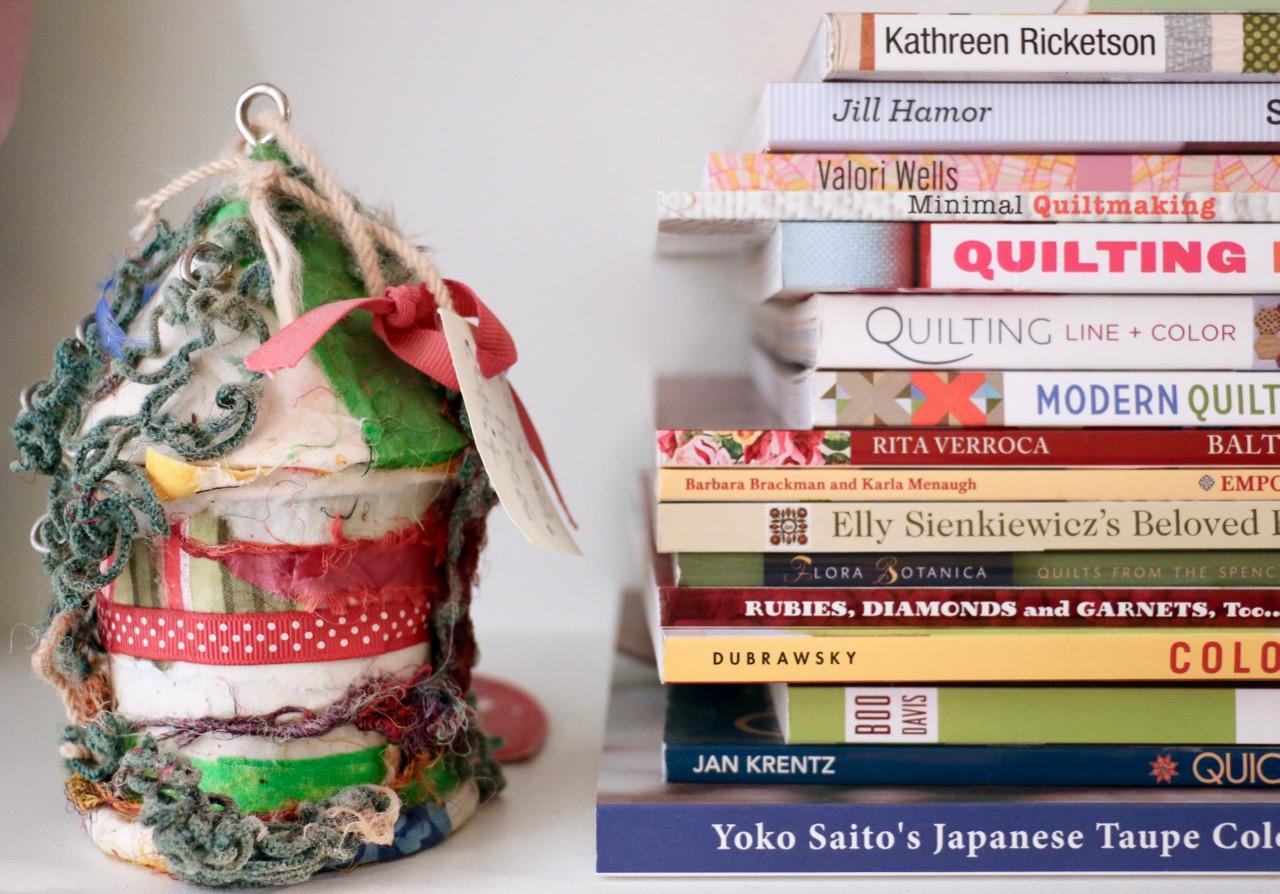 Quilt Book storage
