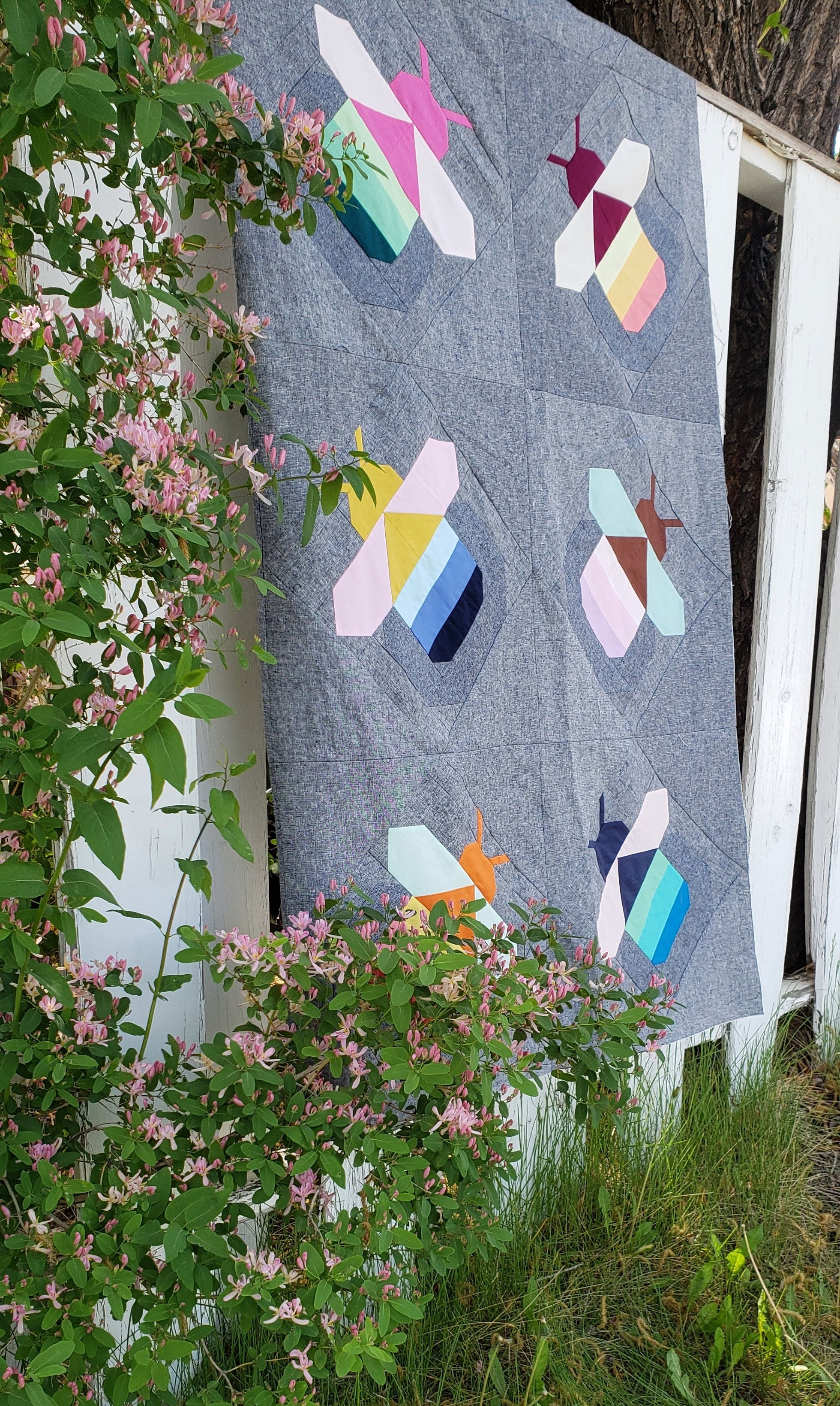 Pattern Drop Firefly Quilt
