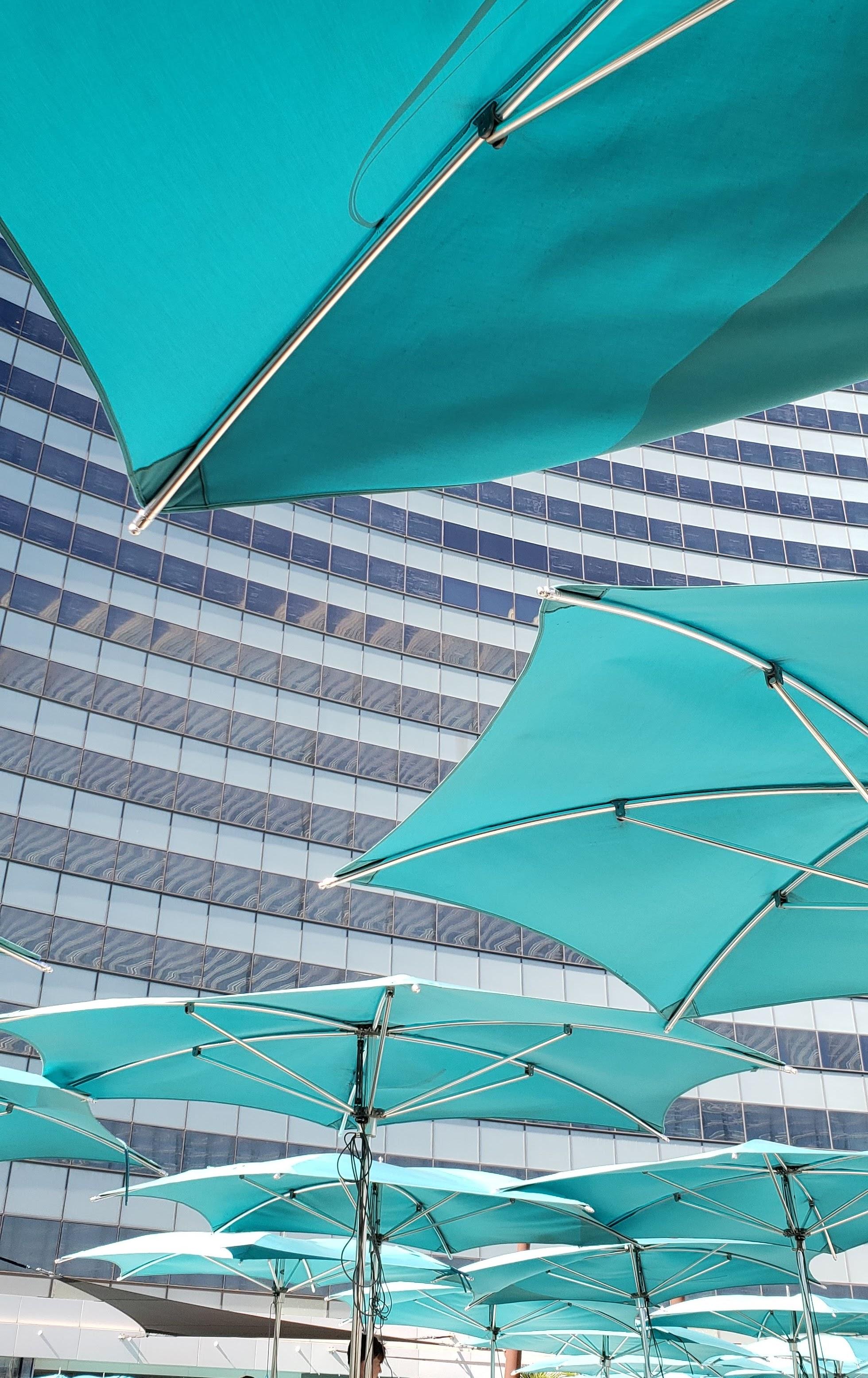 Vegas pool views