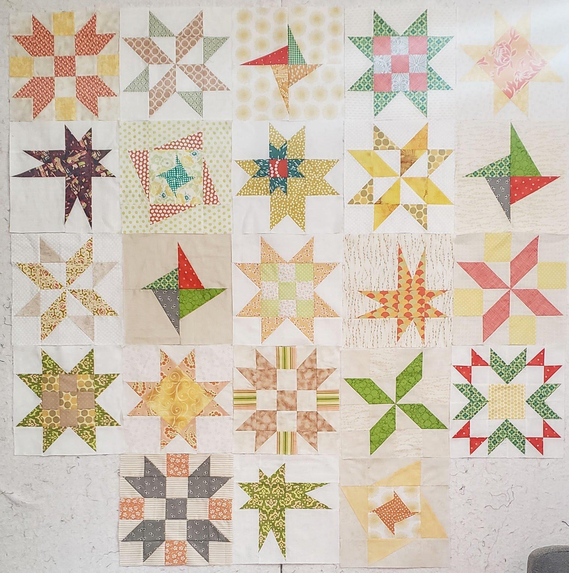 Stars BOM Quilt