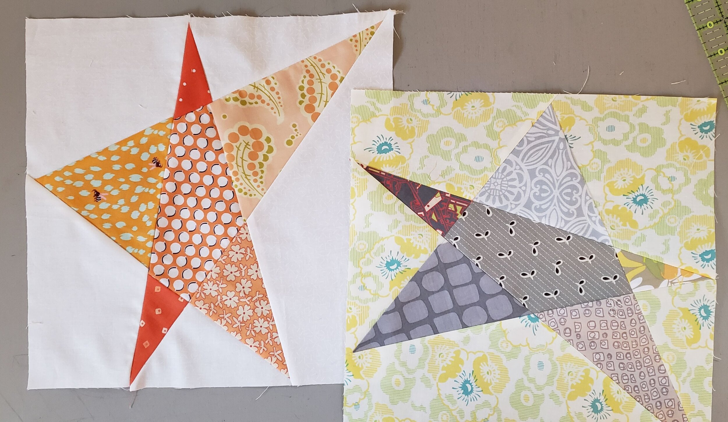 Five pointed Star Quilt Block