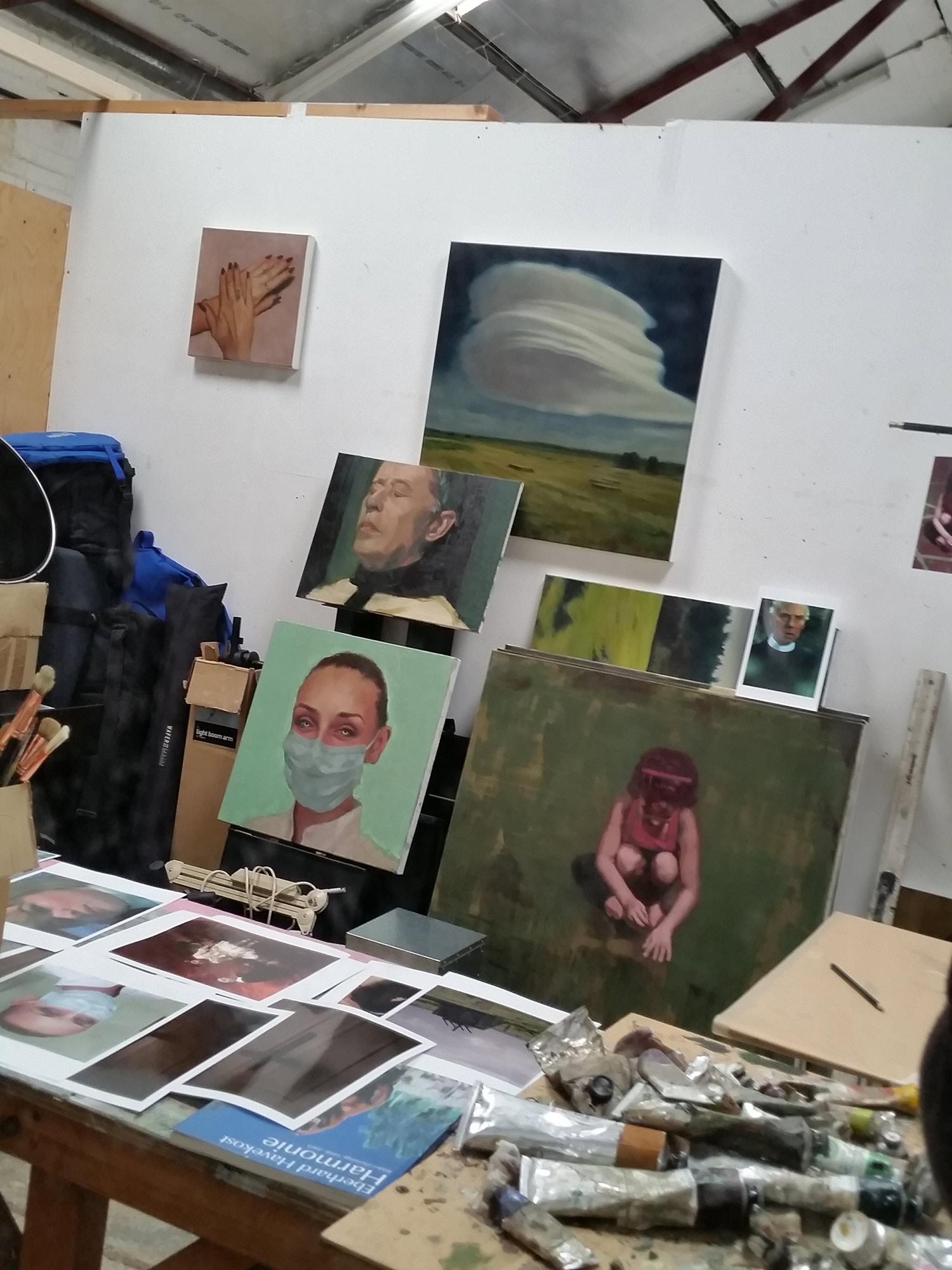 John Brennan's Studio Space