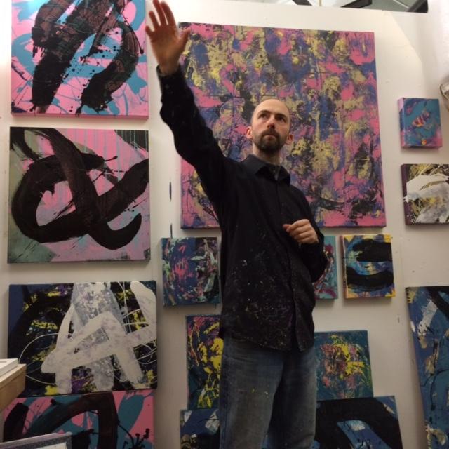 Paul Fenwick Magdalen Road Studio Artist